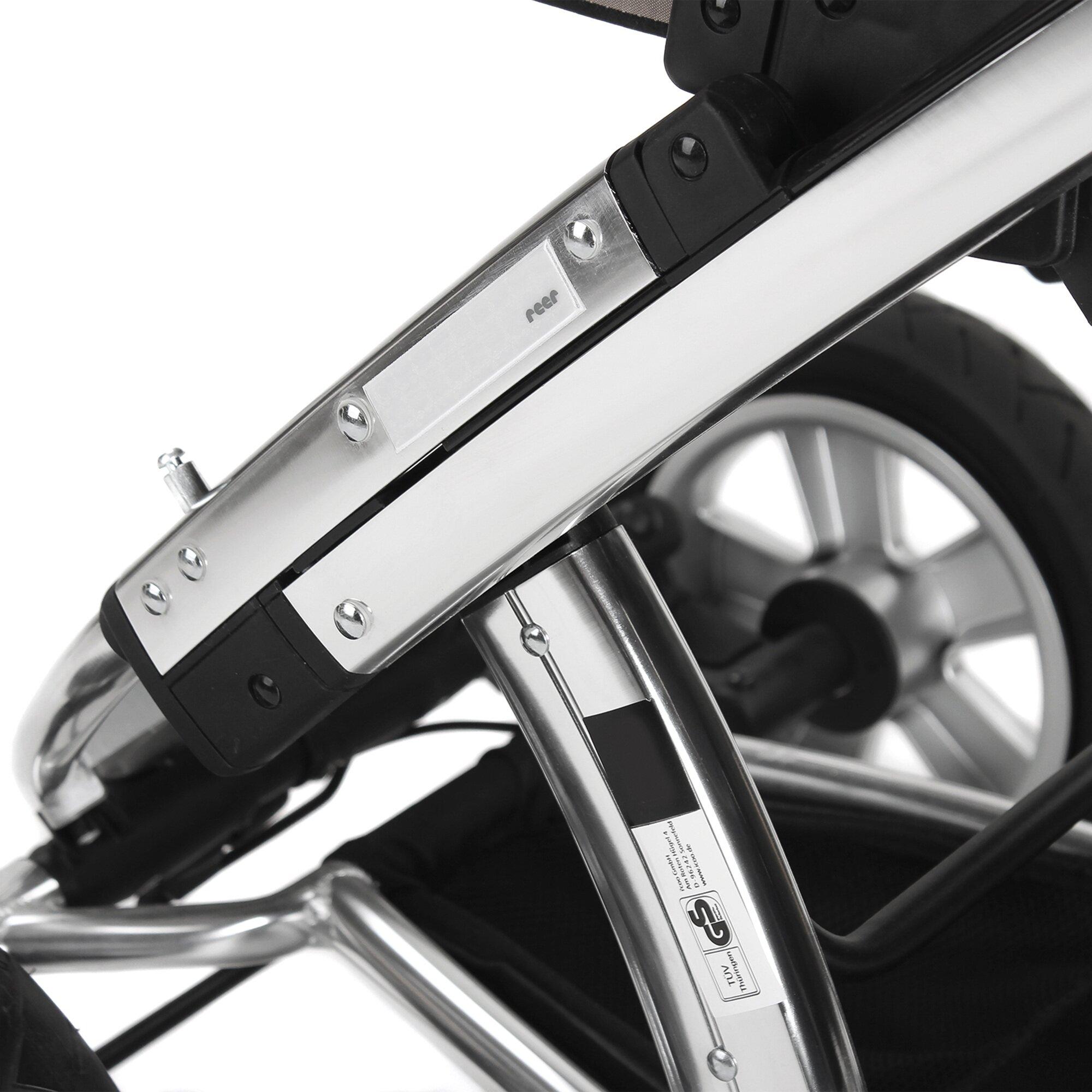 Reer Reflektoren aufklebbar für Kinderwagen und Buggy weiss
