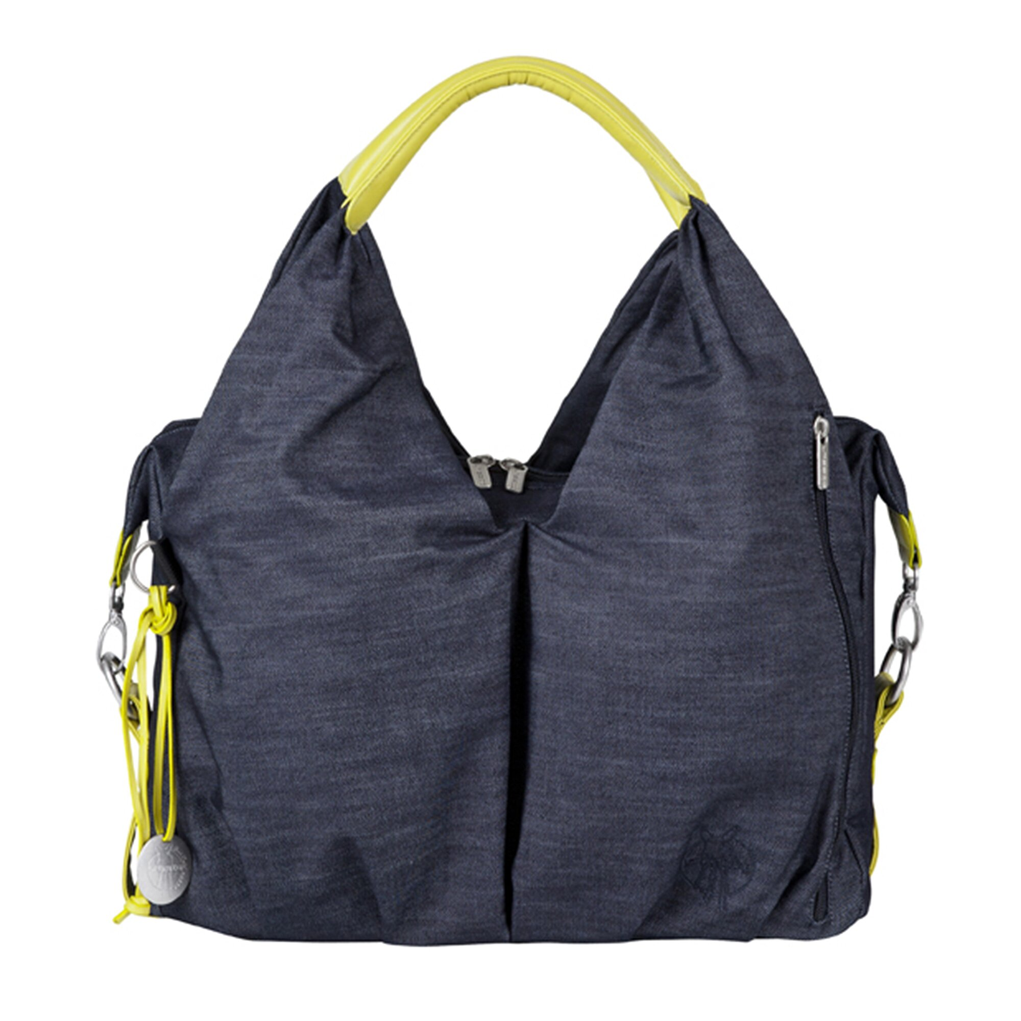Green Label Wickeltasche Neckline Bag blau