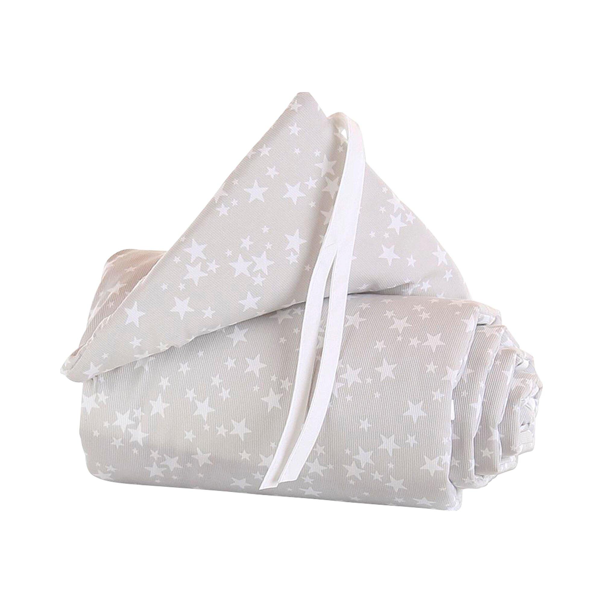 Babybay® Nestchen Piqué für Beistellbett Maxi weiss