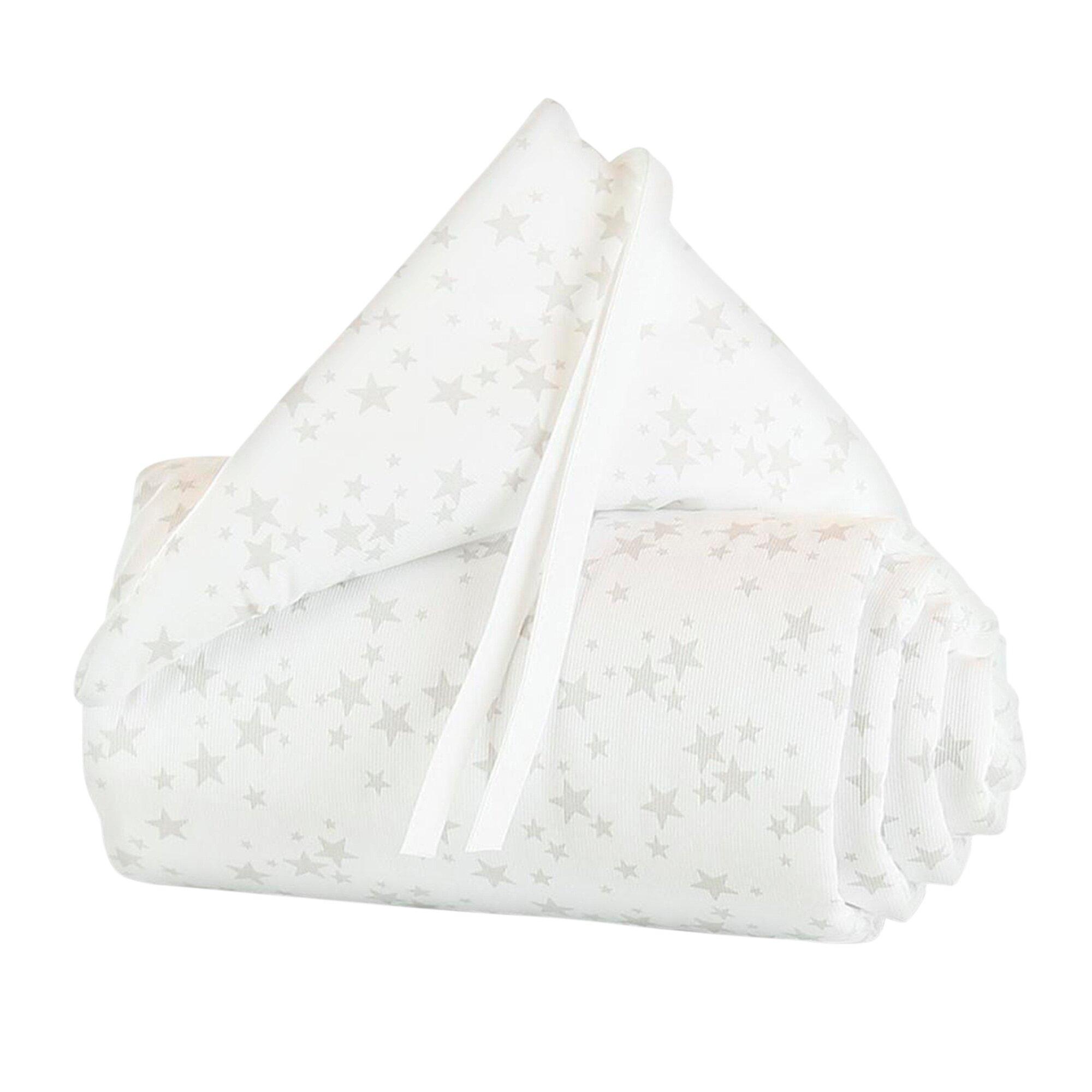 Babybay® Nestchen Piqué für Beistellbett Maxi grau