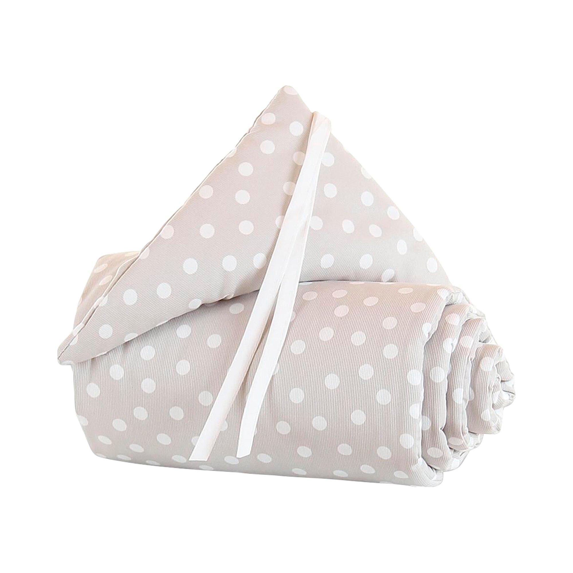 Babybay® Nestchen Piqué für Beistellbett Original weiss