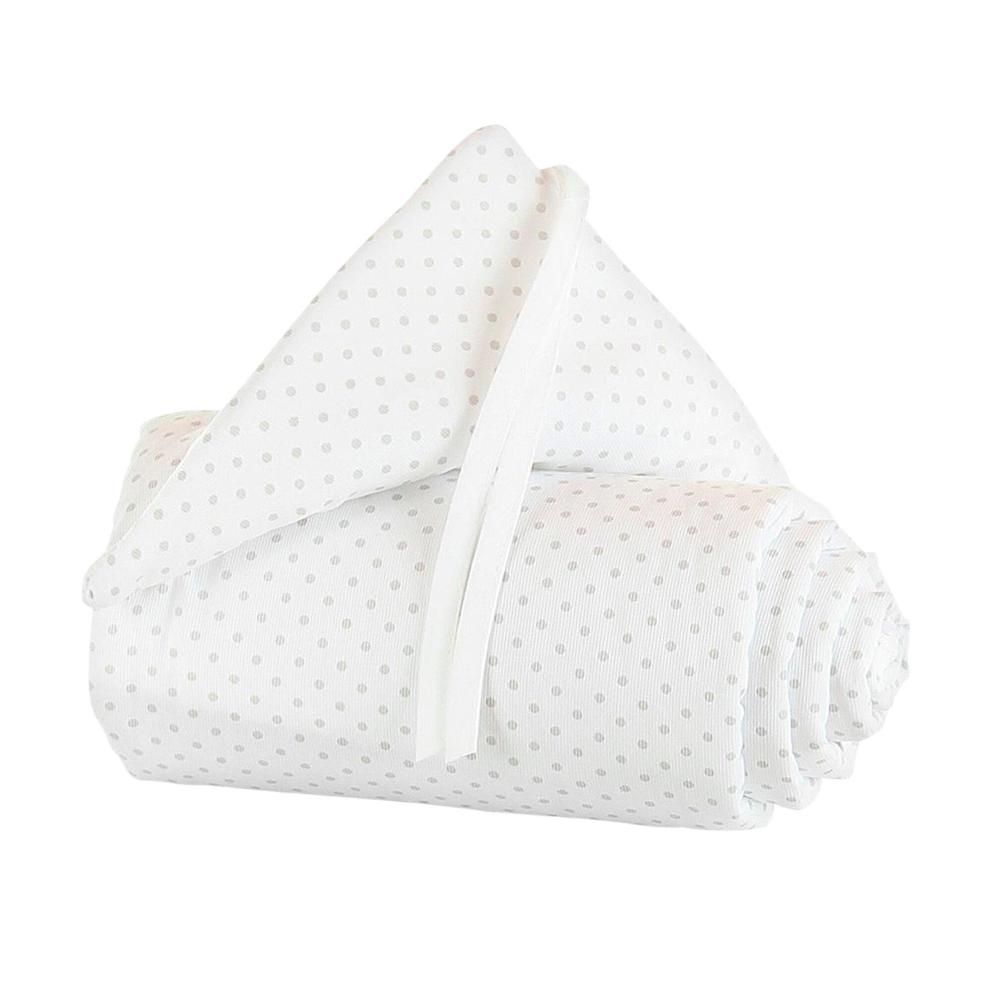 Babybay® Nestchen Piqué für Beistellbett Original grau