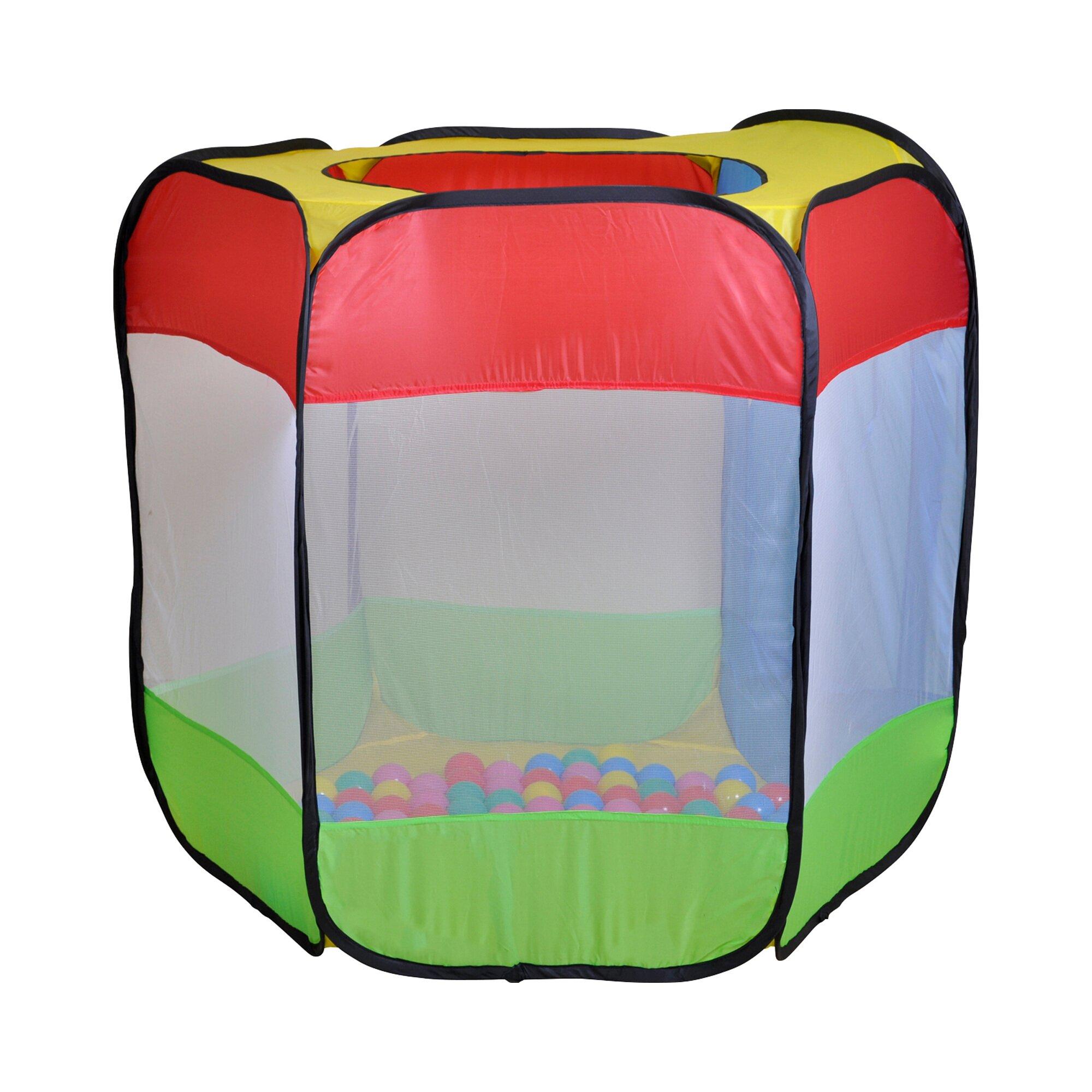 knorrtoys-spielzelt-und-ballebad-bendix-mit-100-ballen, 21.99 EUR @ babywalz-de