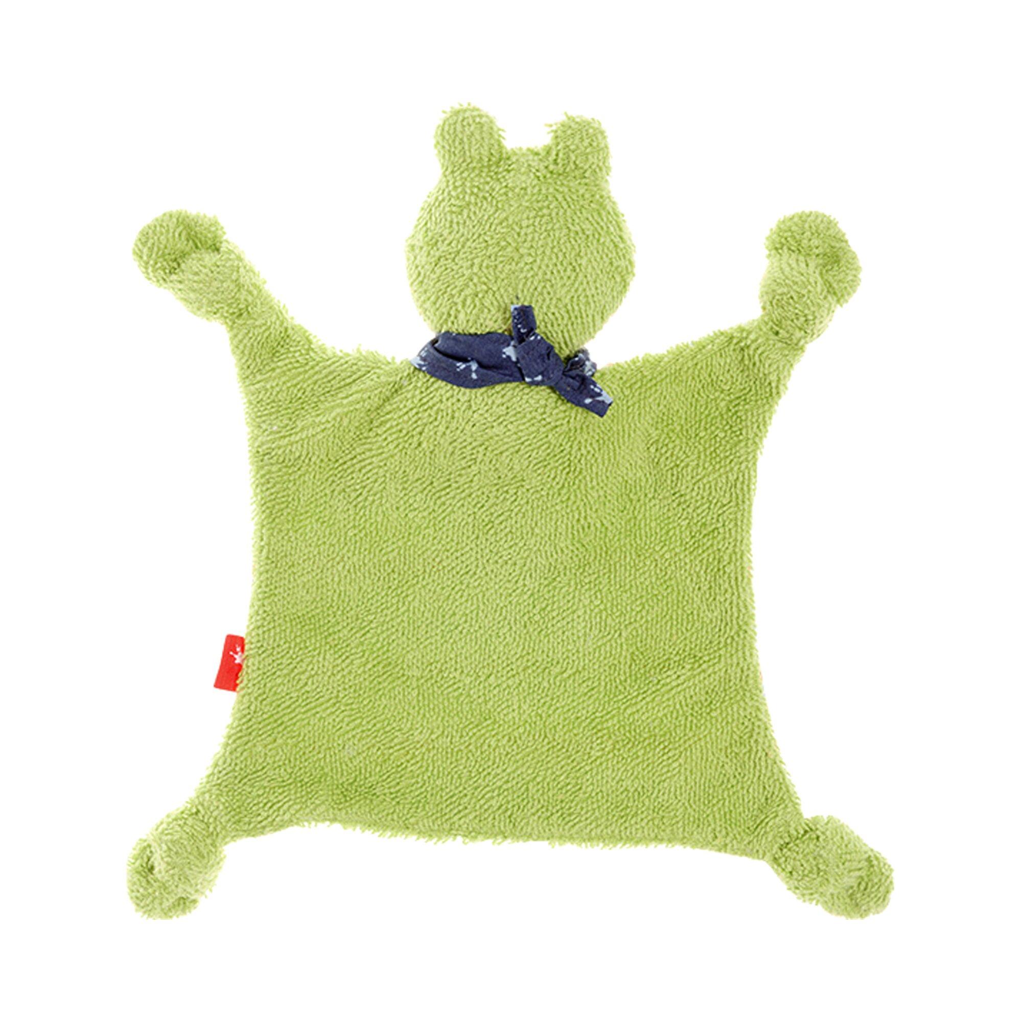 sigikid-schmusetuch-fortis-frog