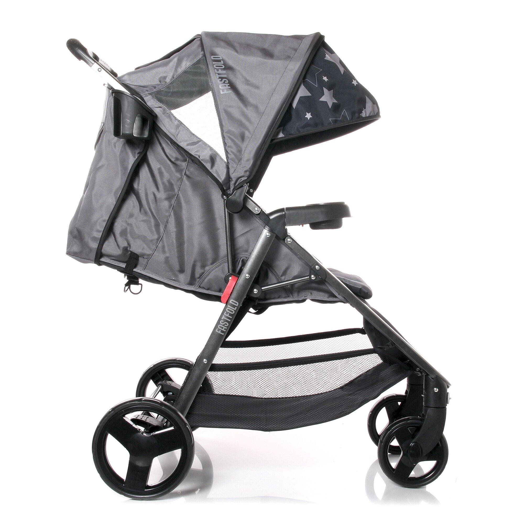 osann-kinderwagen-sportwagen-fastfold-schwarz, 201.99 EUR @ babywalz-de