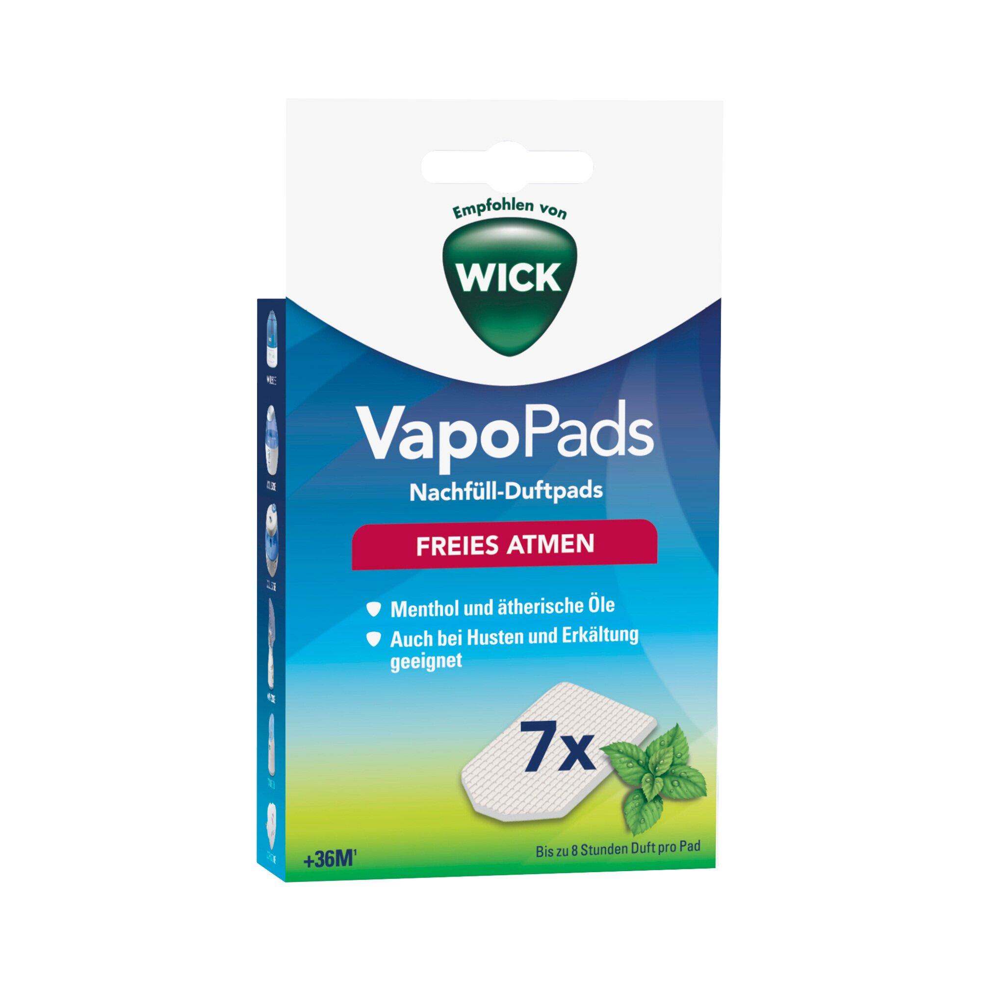 Wick VapoPads Menthol