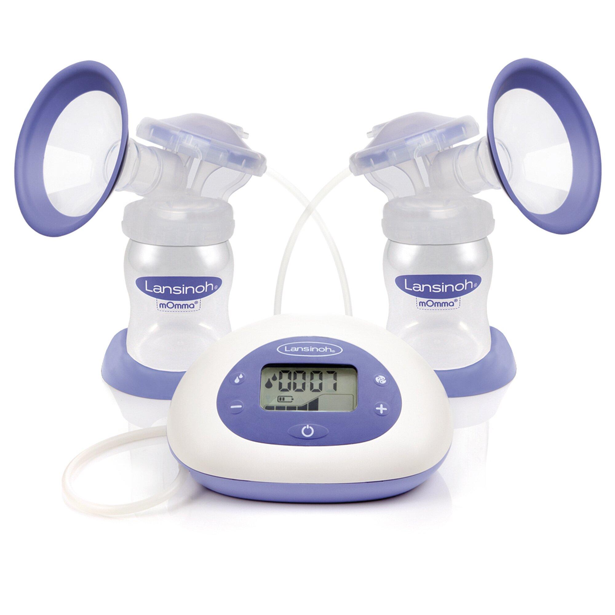 2-in-1 Elektrische Milchpumpe NaturalWave, weiß, Gr.OneSize