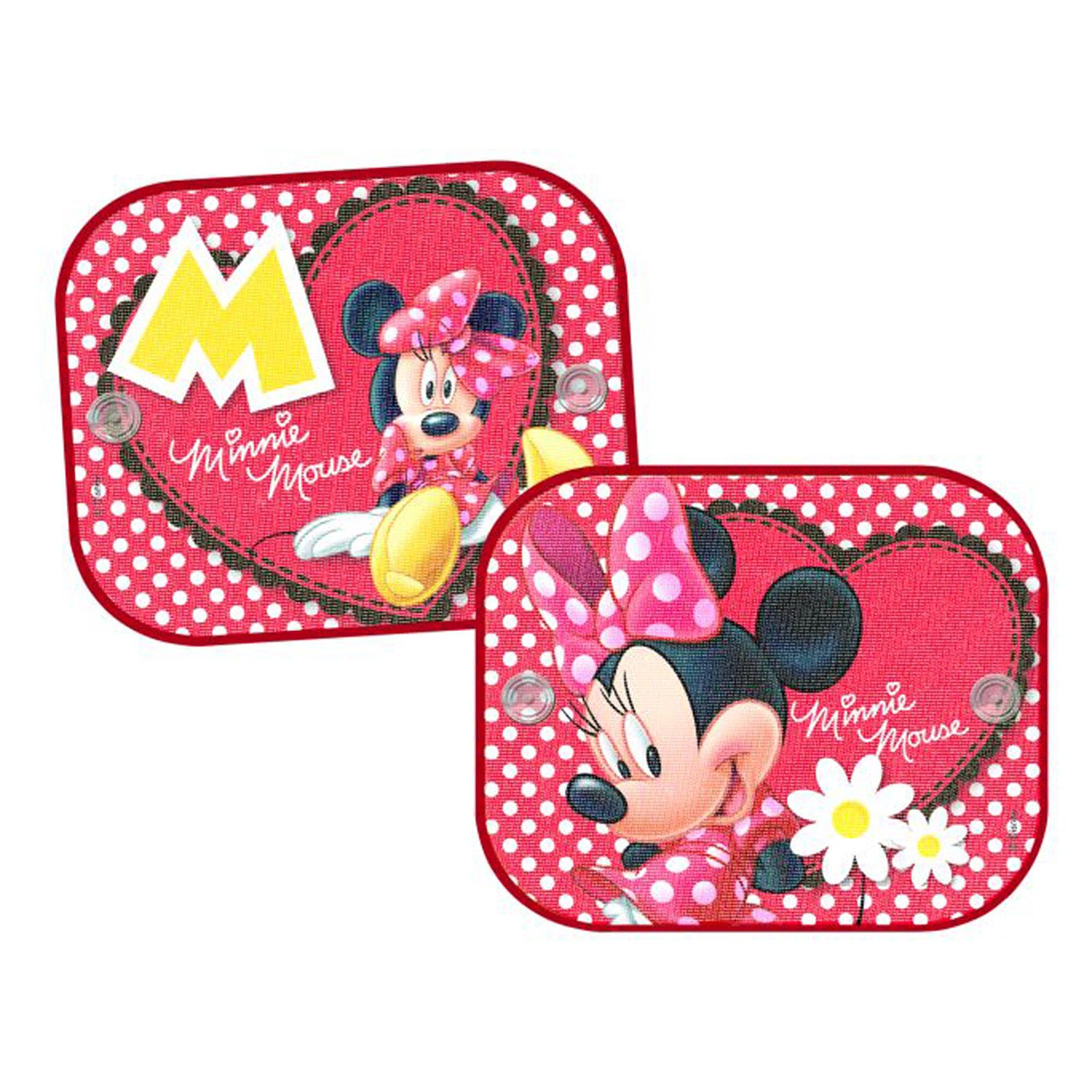 Minnie Mouse Auto-Sonnenschutz mehrfarbig