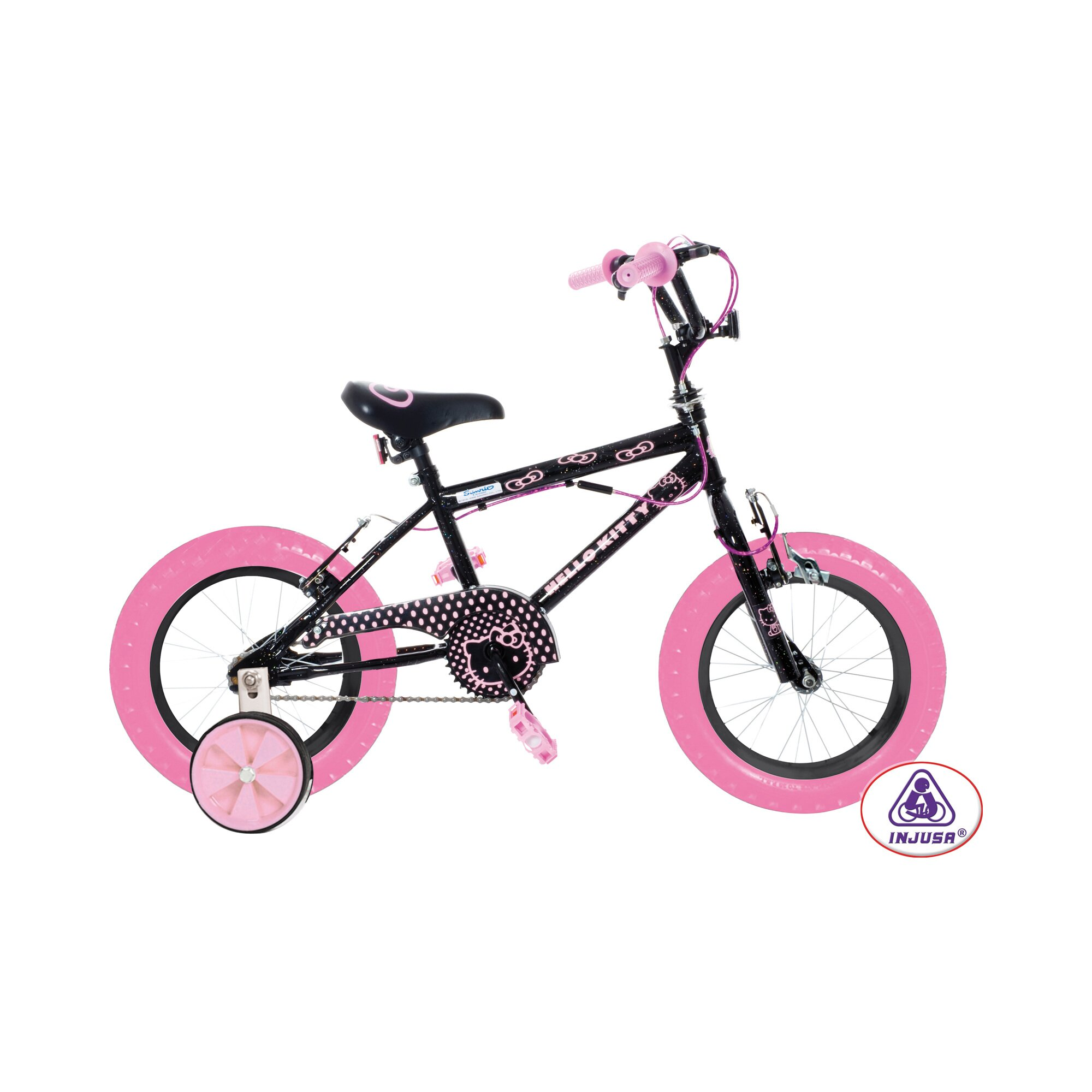 INJUSA Hello Kitty Kinderfahrrad Hello Kitty 12 Zoll