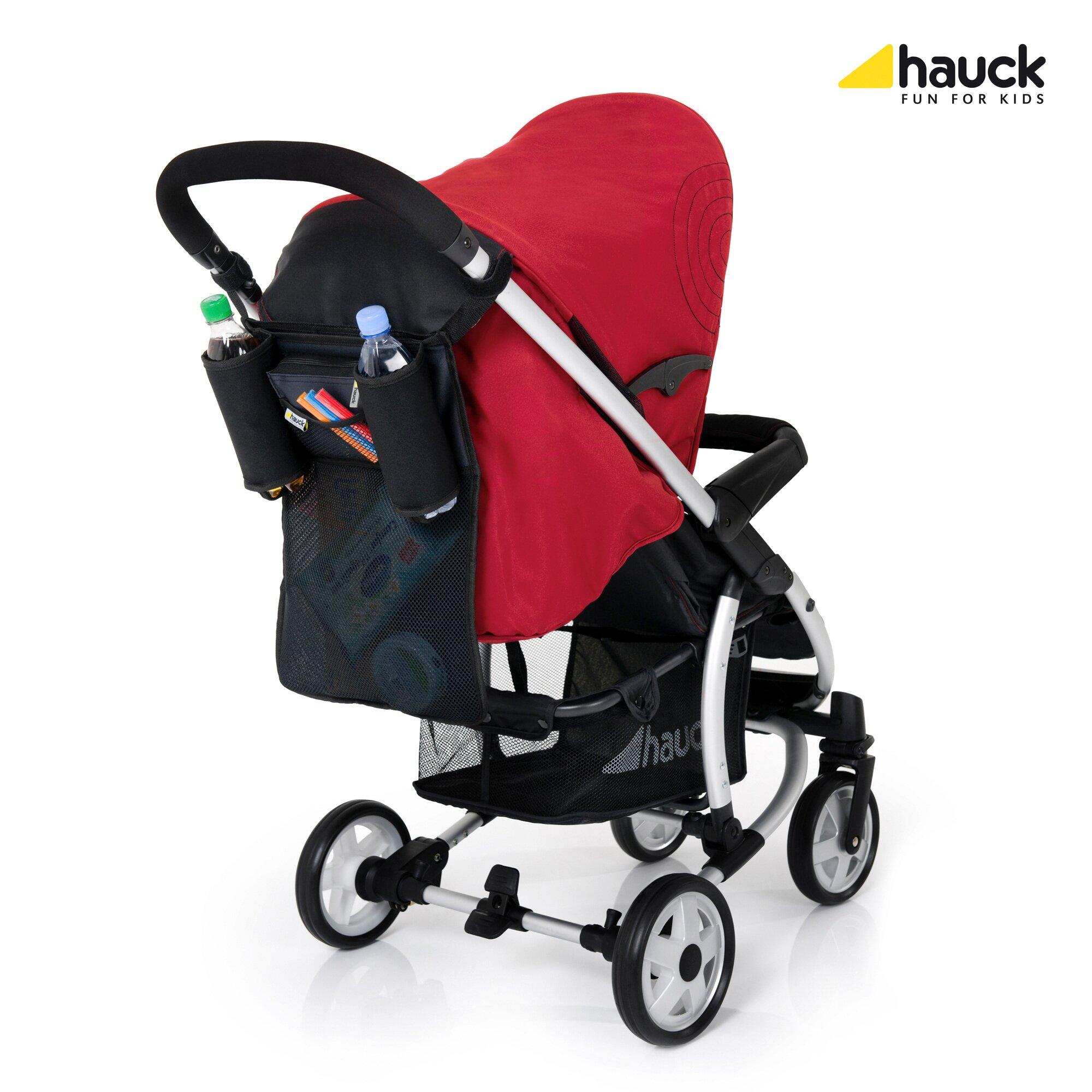 Hauck Einkaufstasche Store me für Kinderwagen und Buggy schwarz