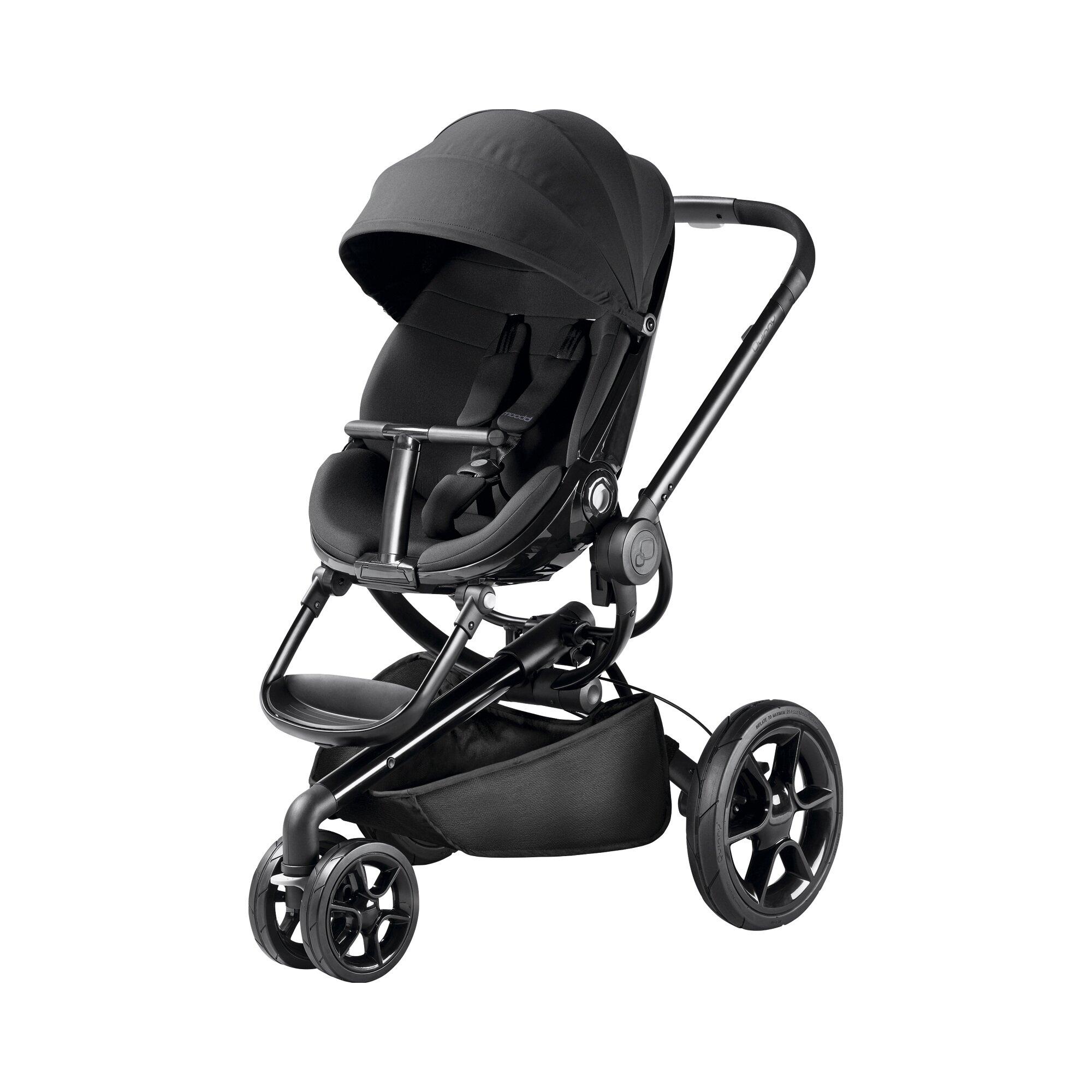 Quinny Kinderwagen Moodd schwarz