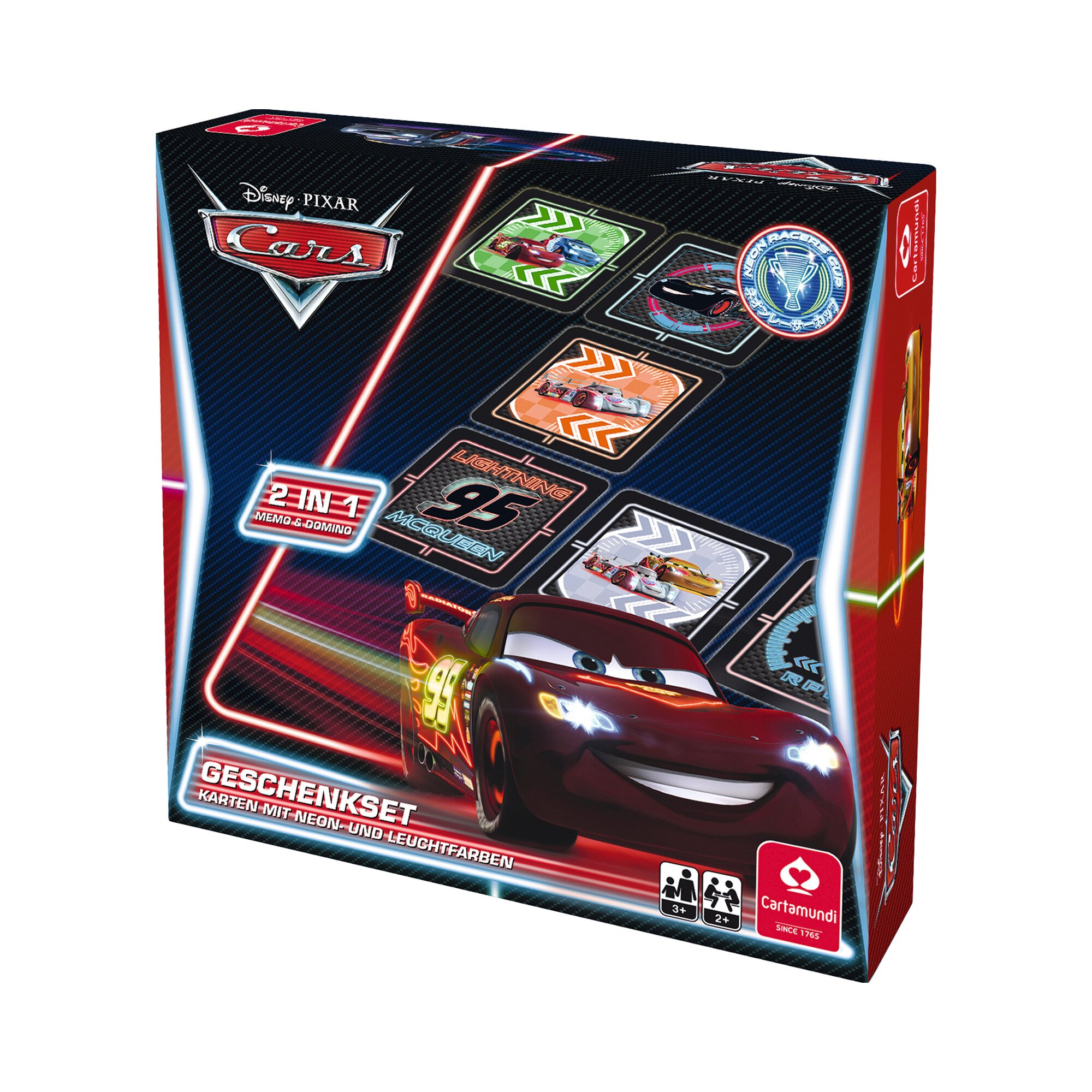 Disney Cars Geschenkset 2 in 1 Memo & Domino