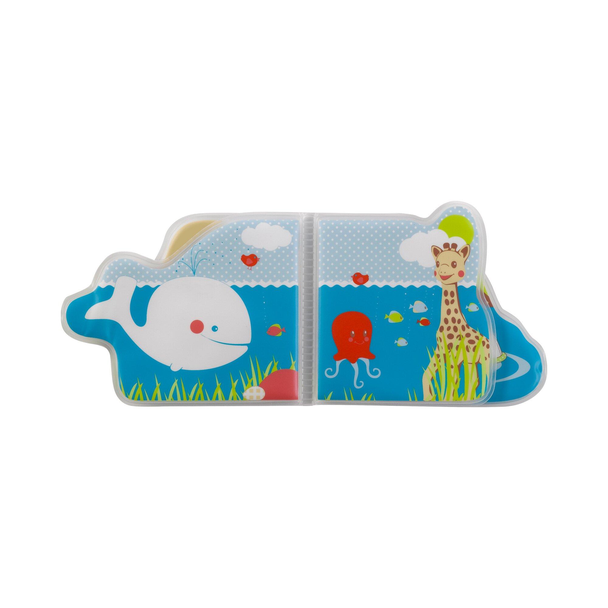 sophie-la-girafe-badespielzeug-badebuch-