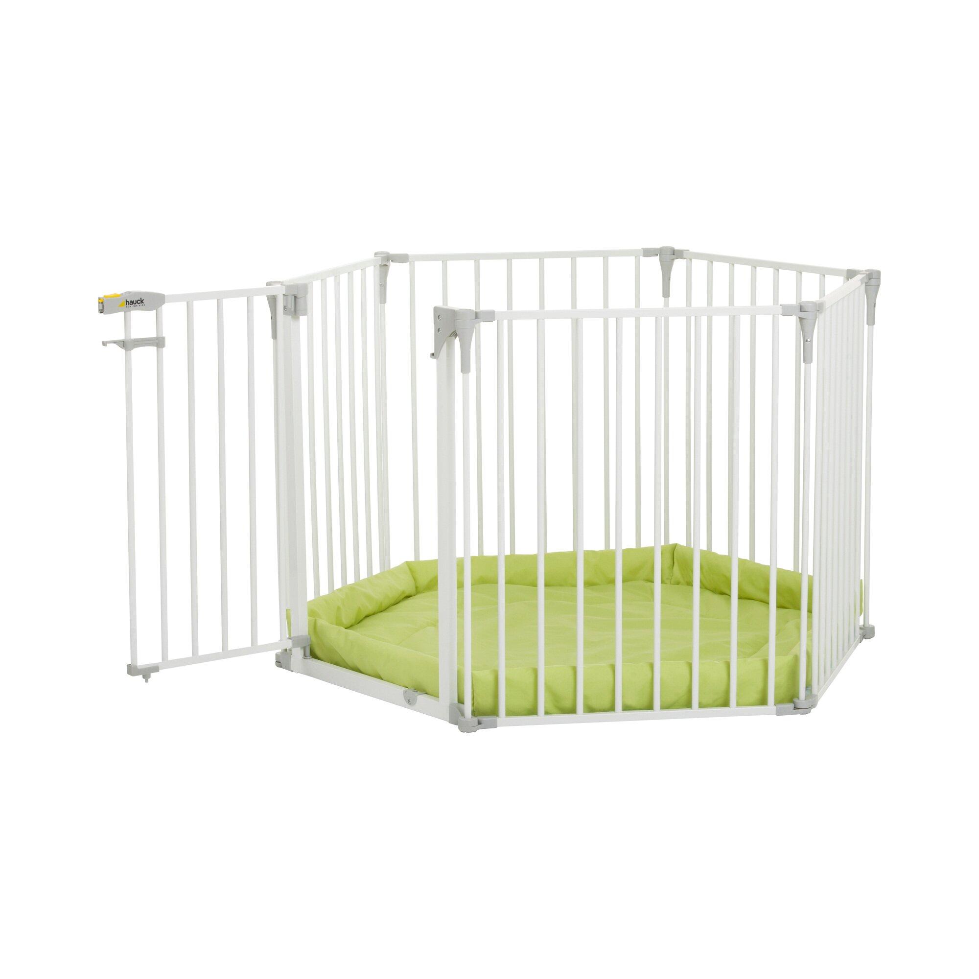 hauck-konfigurationsgitter-baby-park-4in1-weiss