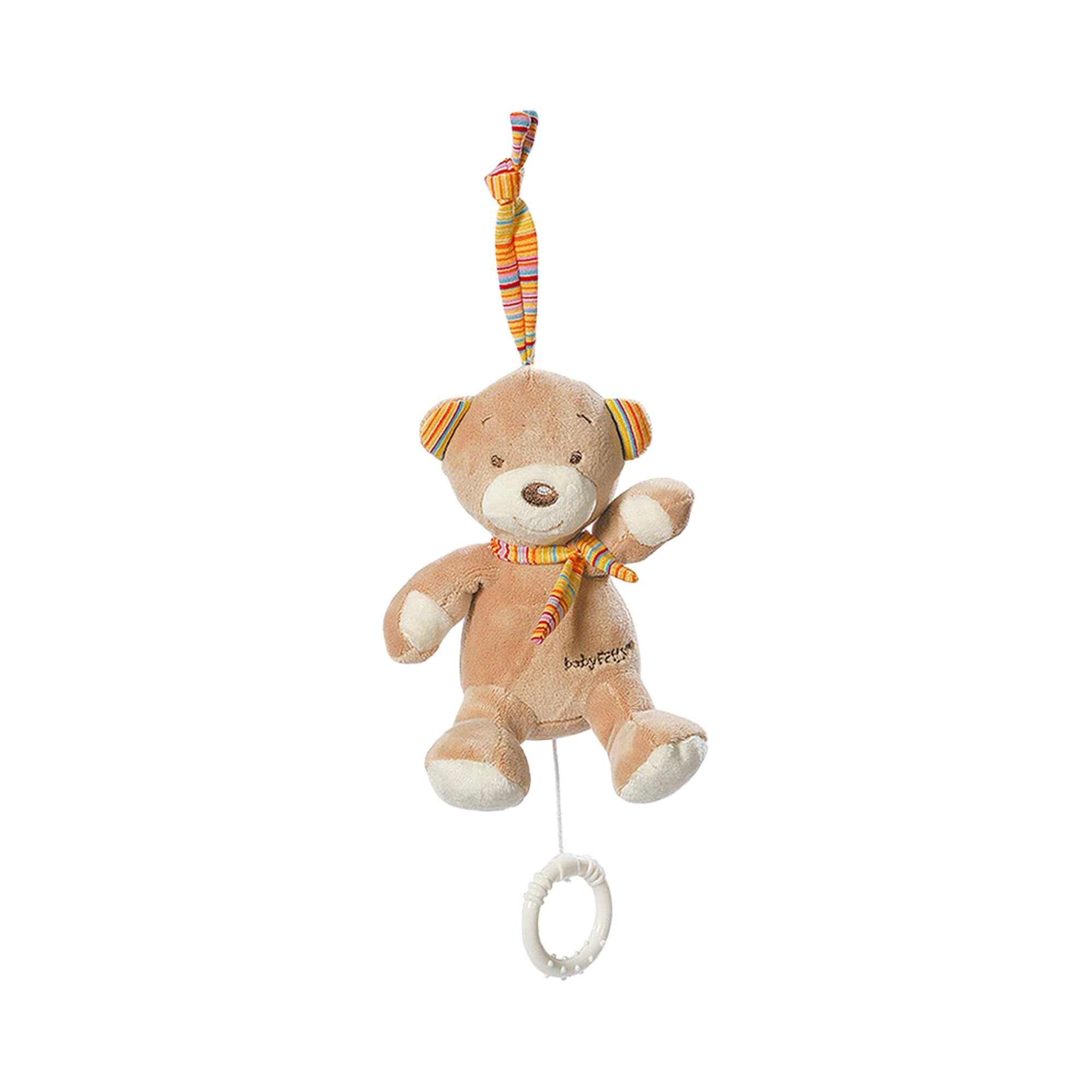 Fehn Spieluhr Teddy Rainbow 16 cm