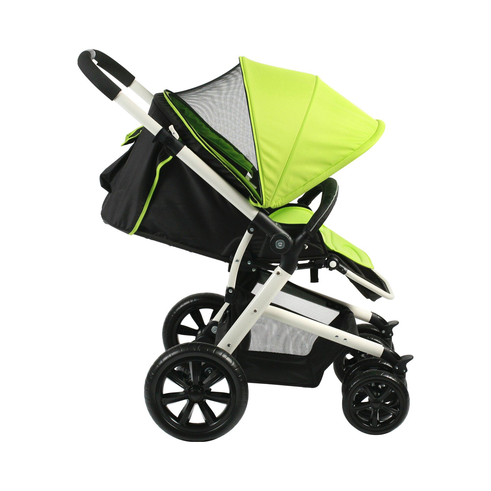 chic-4-baby-pronto-kinderwagen-sportwagen-gruen