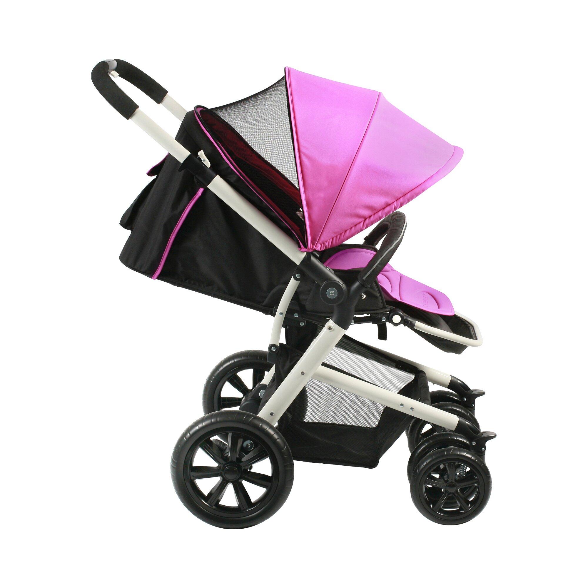chic-4-baby-pronto-kinderwagen-sportwagen-rot