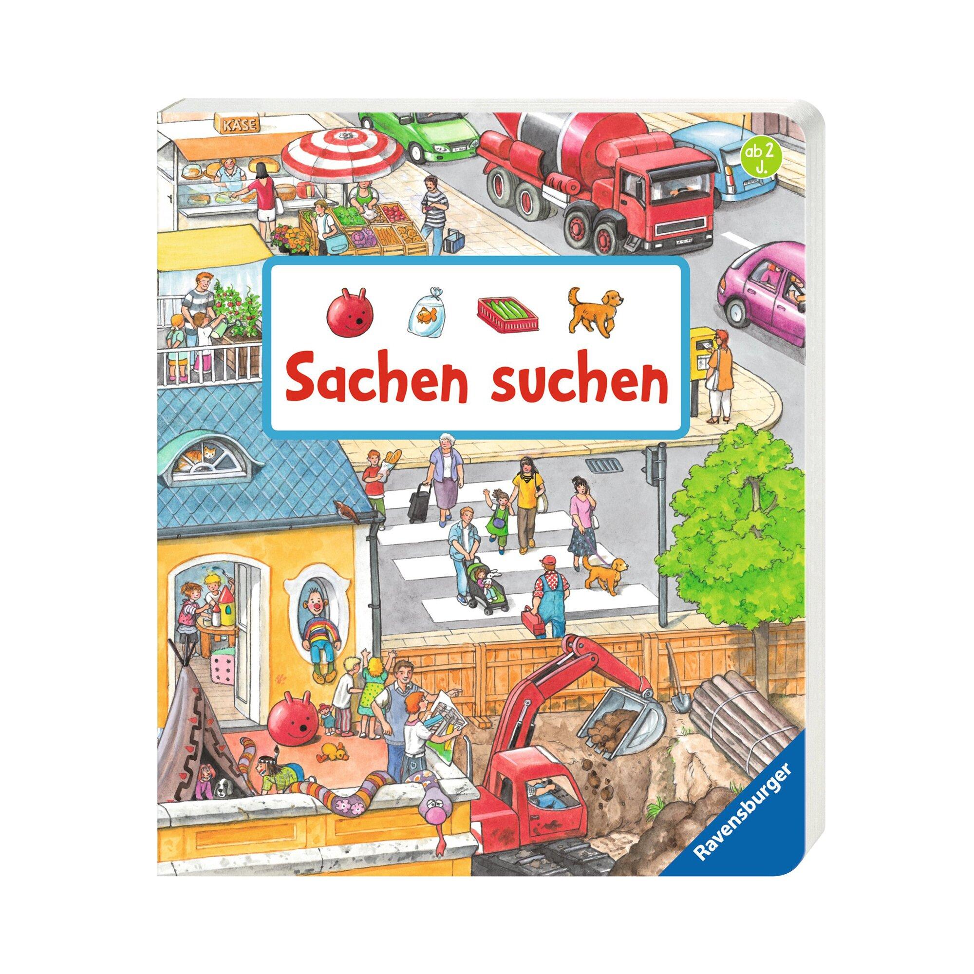 Pappbilderbücher Sachbuch Sachen suchen