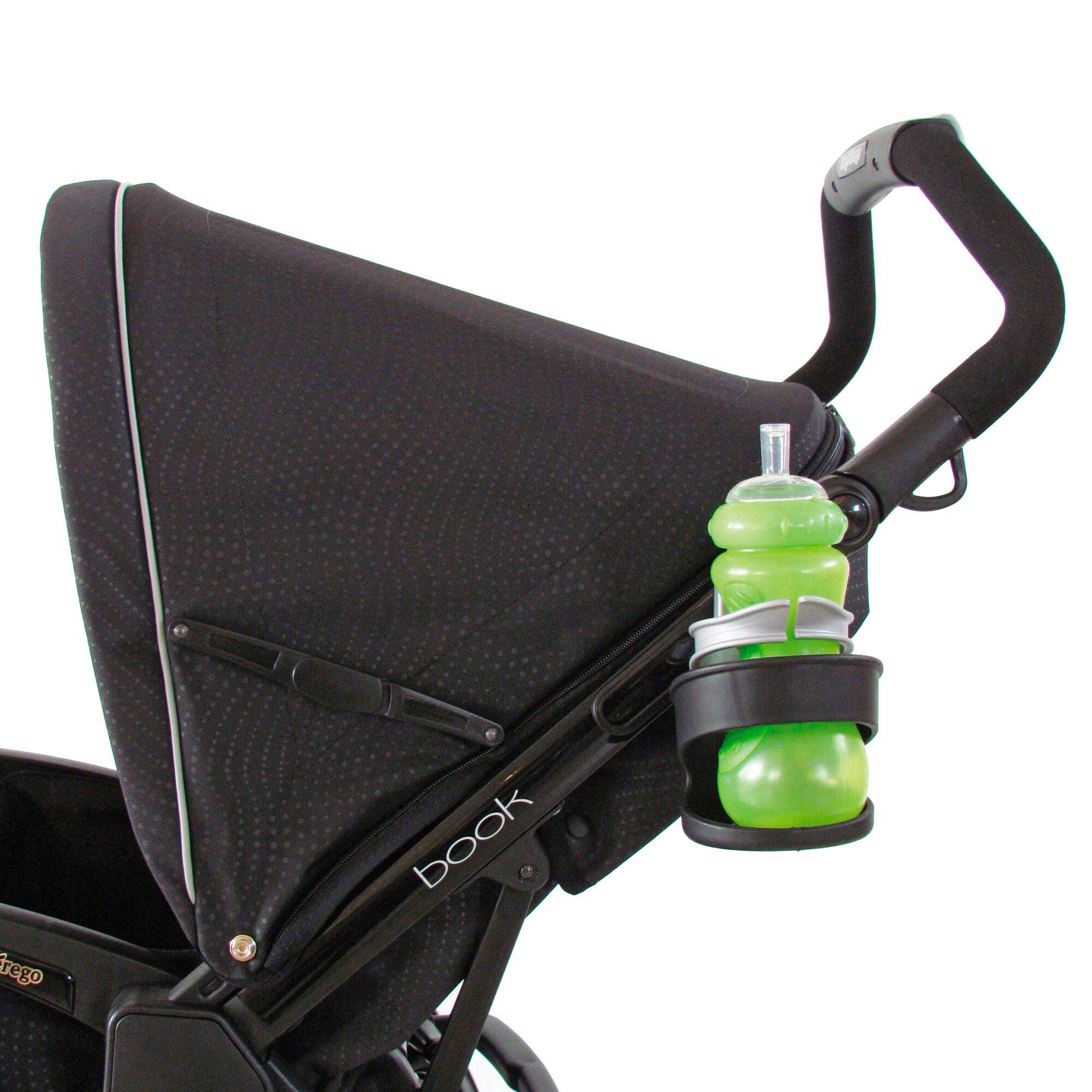 Peg Perego Flaschen, - Getränkehalter für Kinderwagen und Buggy schwarz