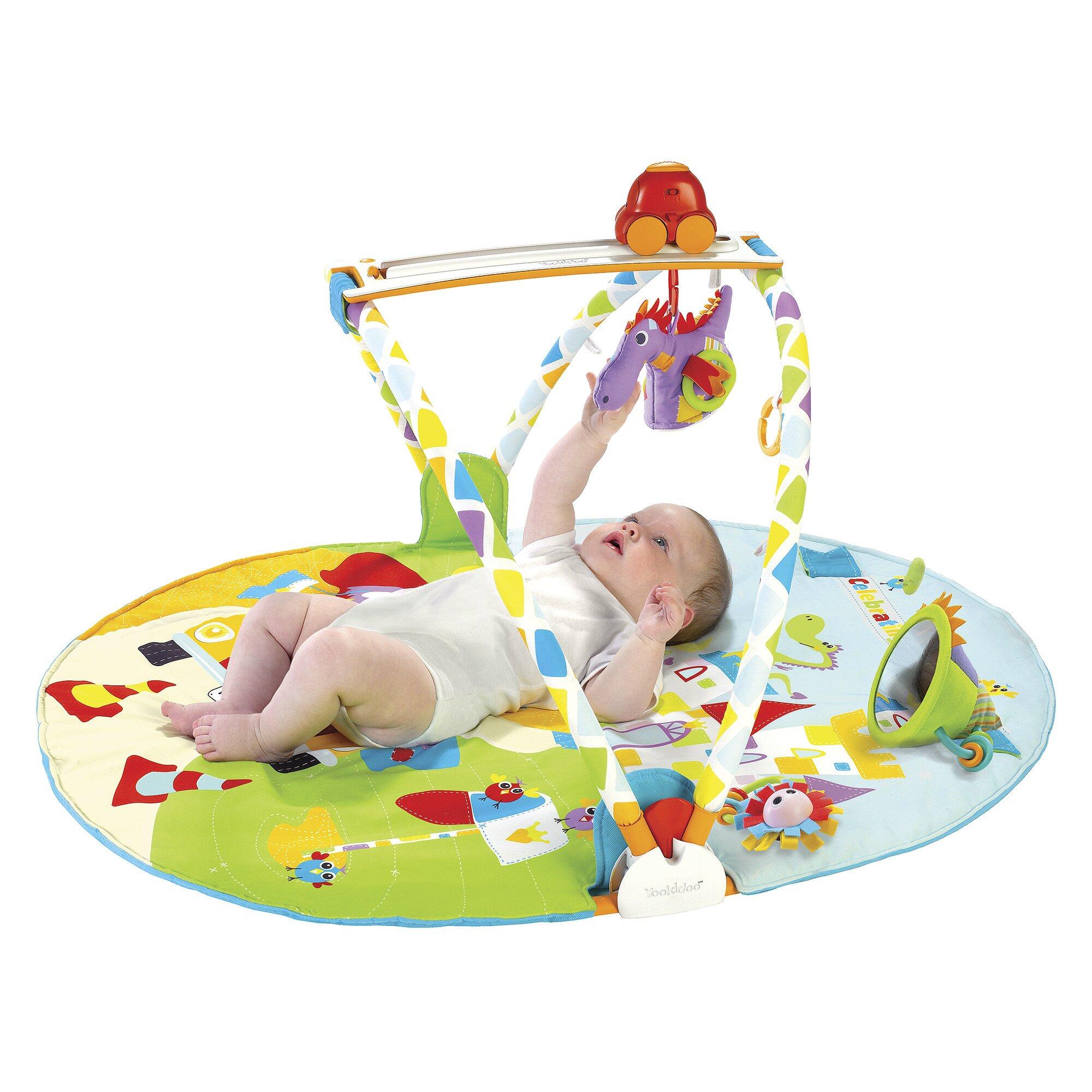 Yookidoo Spielbogen Gymotion Activity Playland mit Erlebnisdecke mehrfarbig