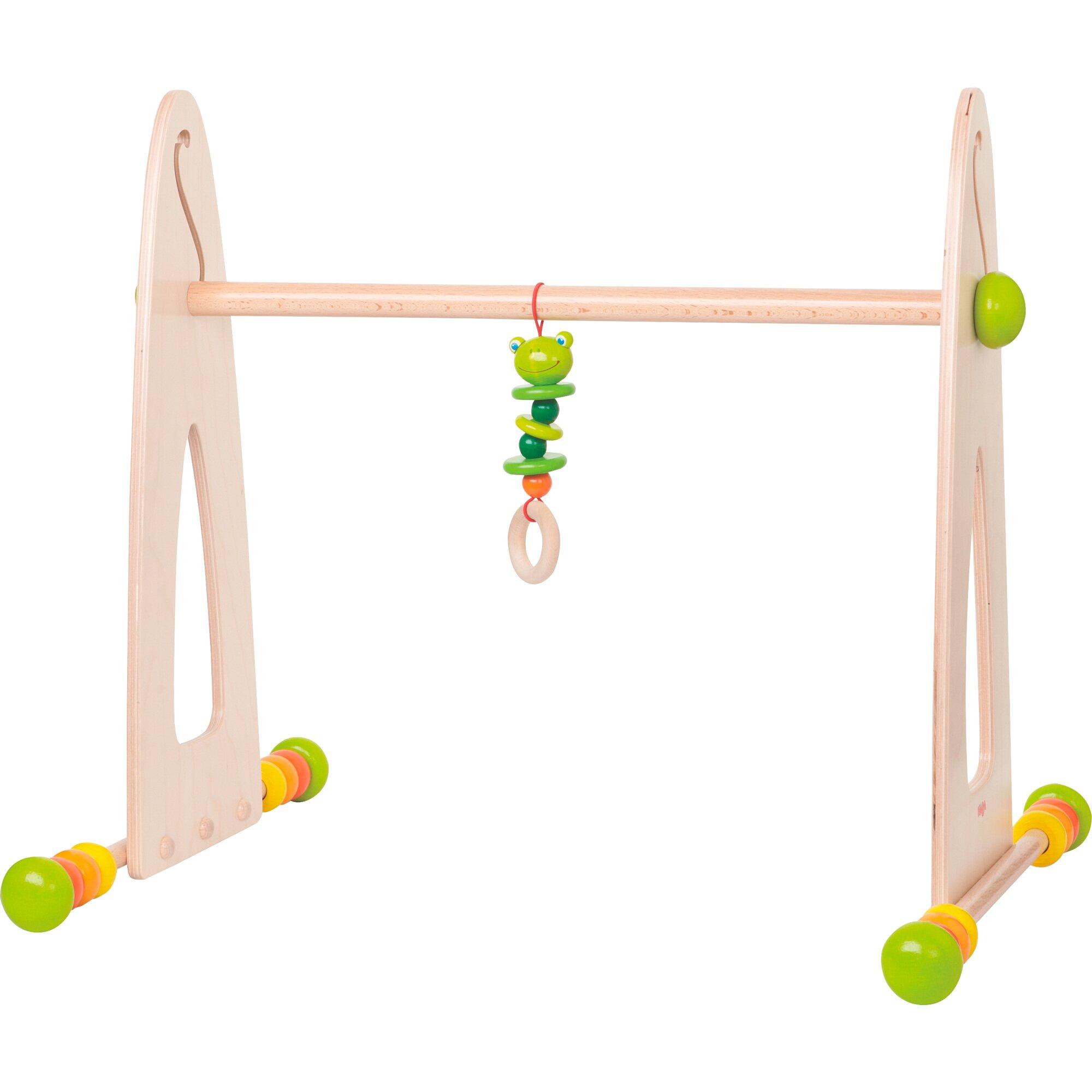 Haba Spieltrapez Spieltrainer Farbenspaß aus Holz natur