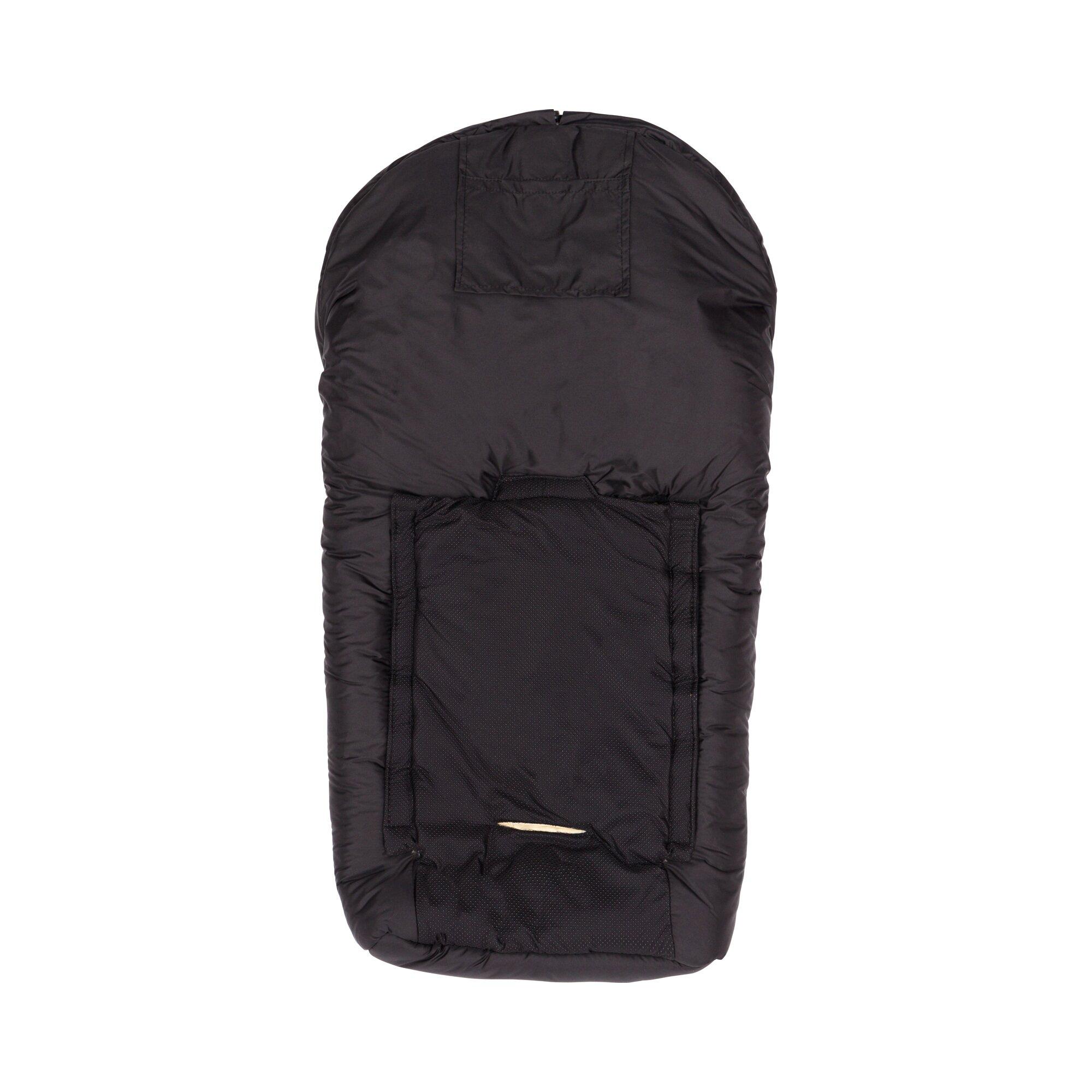 babycab-lammfell-fu-sack-elbrus-fur-babyschale-kinderwagen-tragewanne-schwarz, 79.99 EUR @ babywalz-de