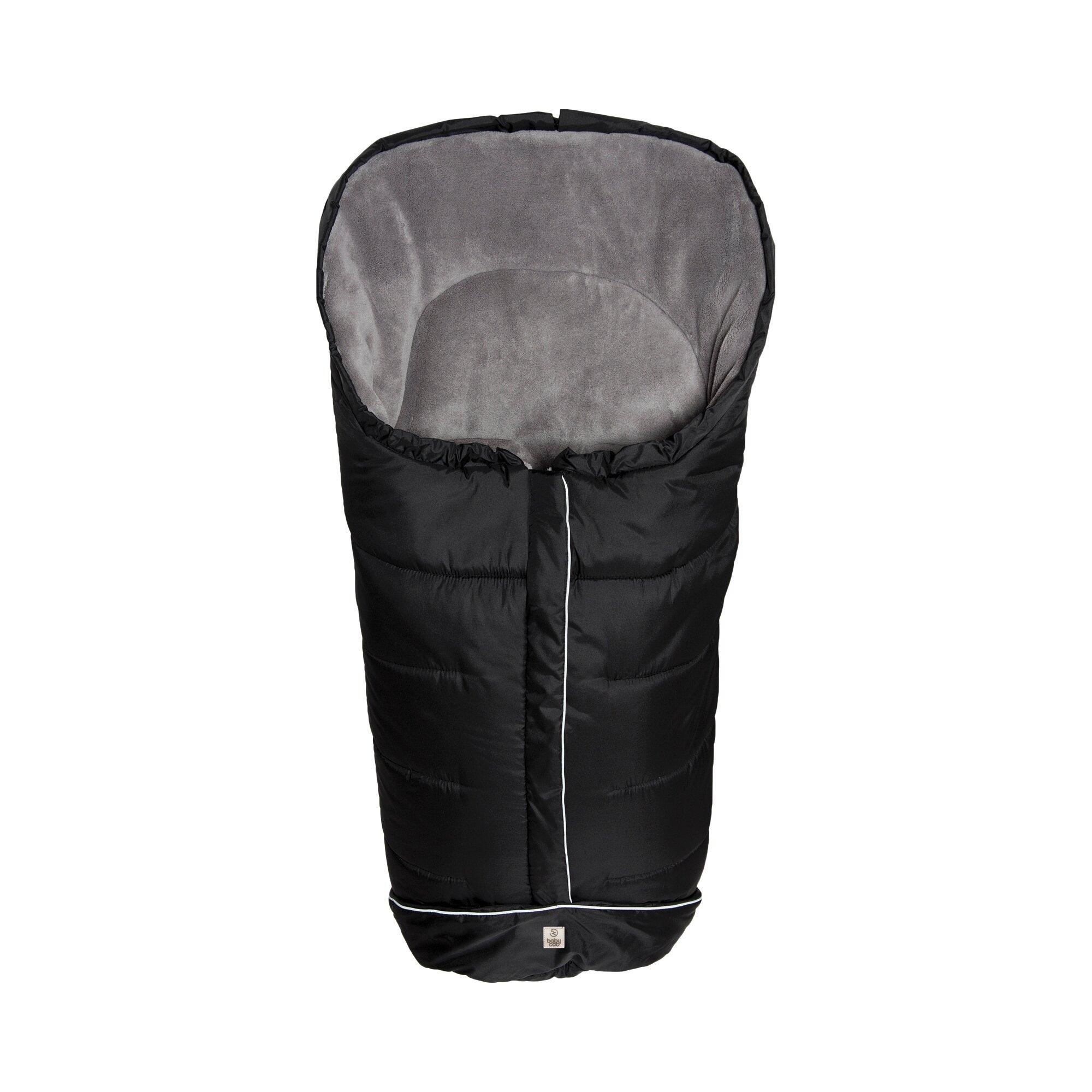 Babycab Winter-Fußsack K2 für Kinderwagen schwarz
