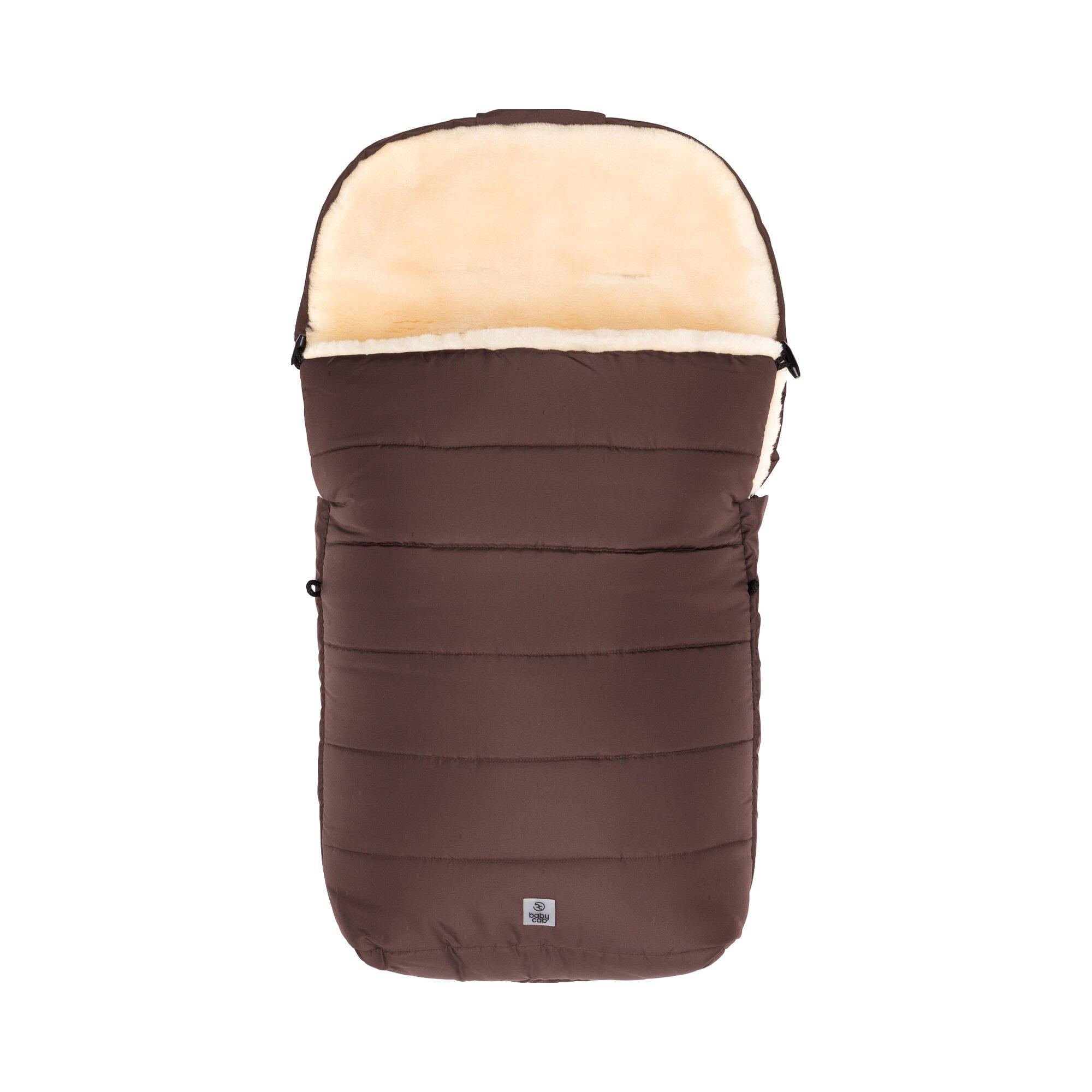 babycab-universal-lammwoll-fu-sack-sonnblick-fur-kinderwagen-braun, 50.69 EUR @ babywalz-de