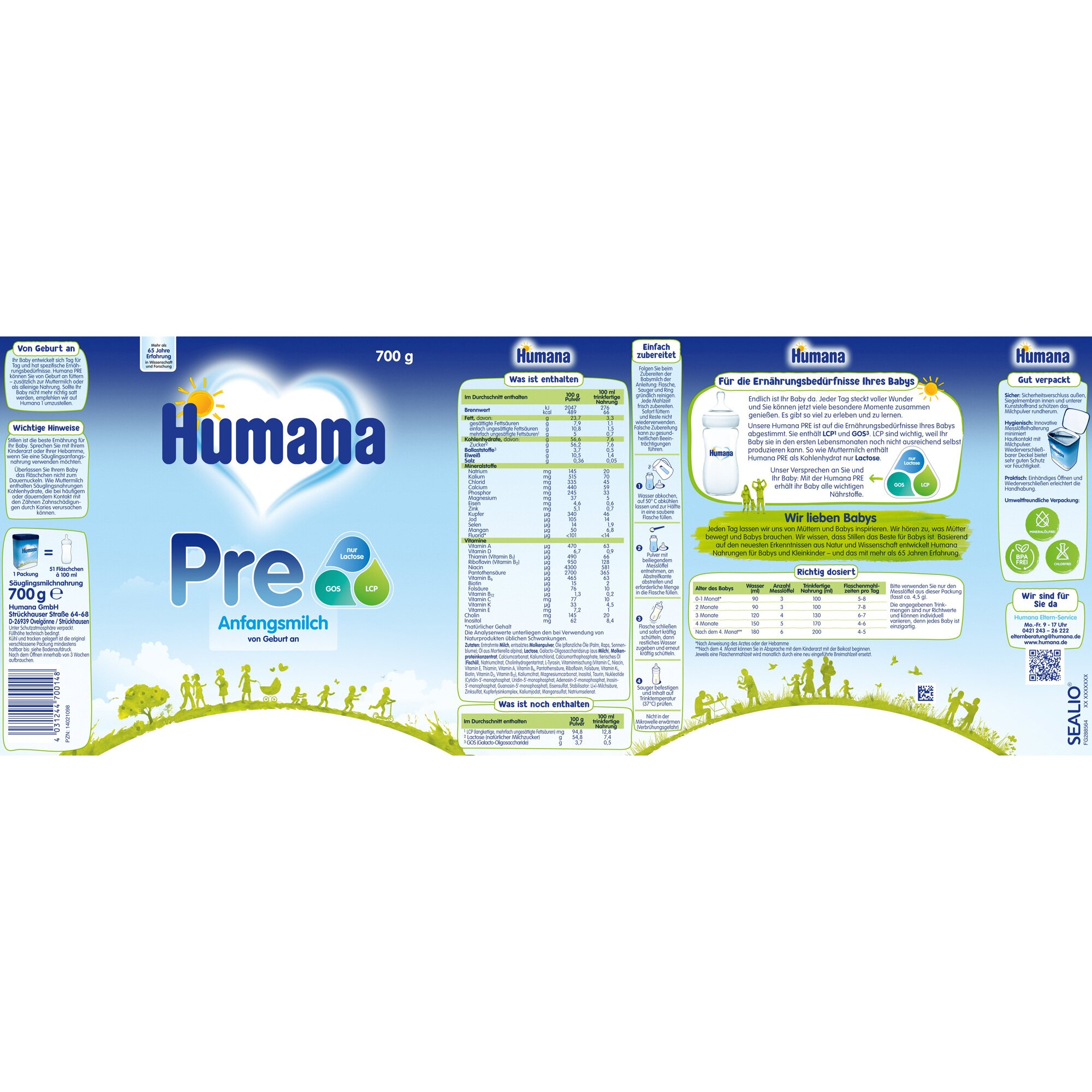 humana-anfangsmilch-pre-700g