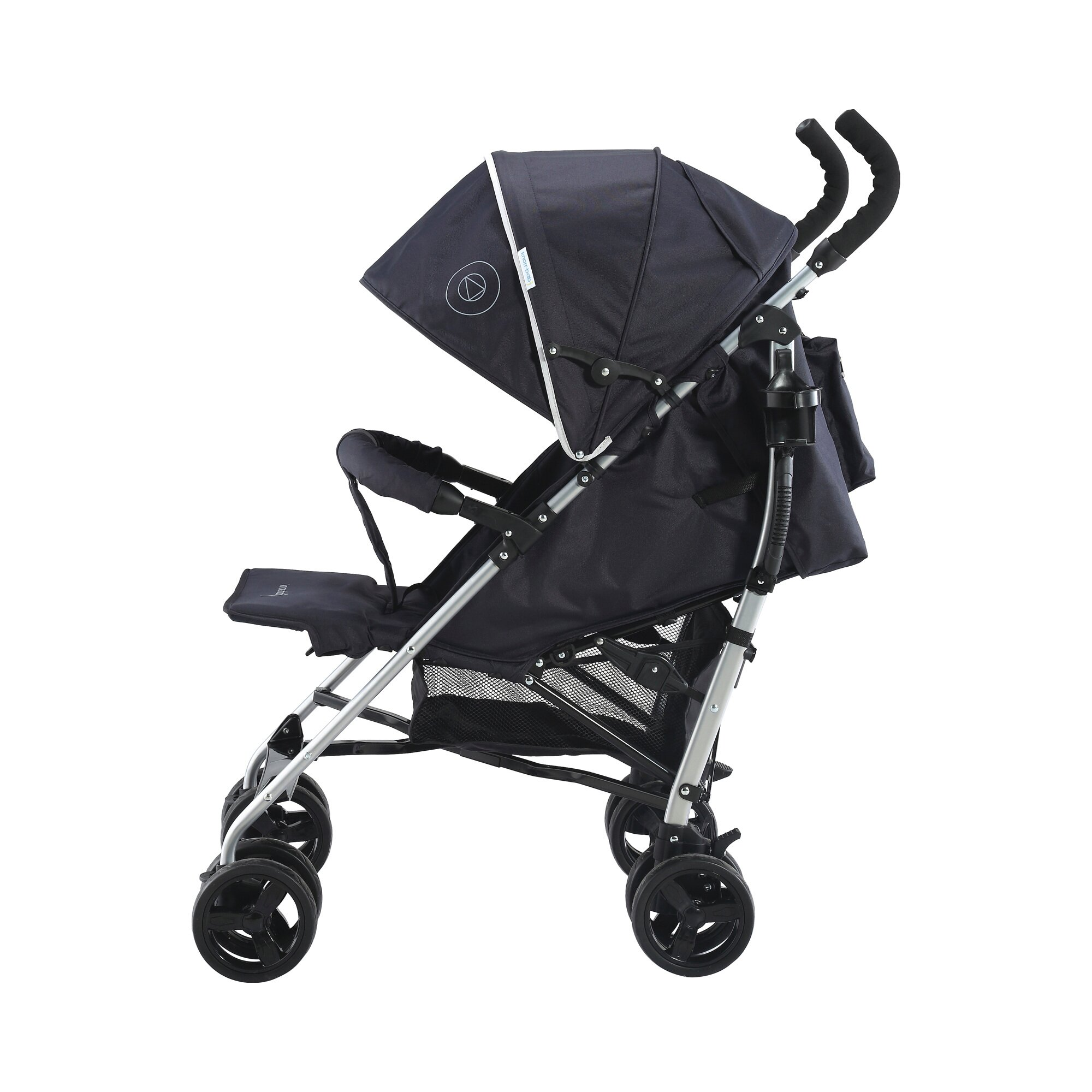 knorr-baby-styler-happy-colour-buggy-mit-liegefunktion-schwarz, 81.99 EUR @ babywalz-de