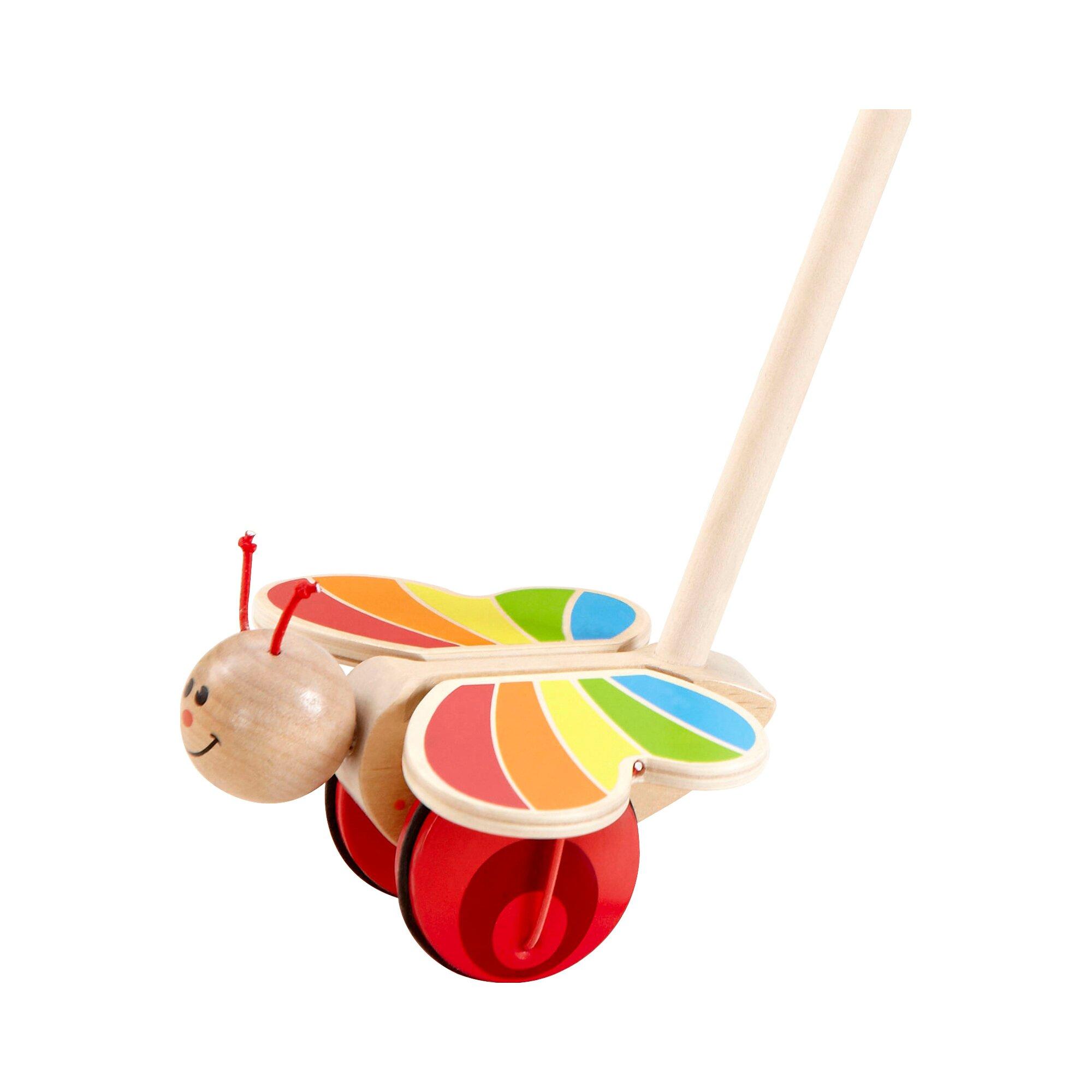 hape-schiebespielzeug-schmetterling-aus-holz, 14.99 EUR @ babywalz-de