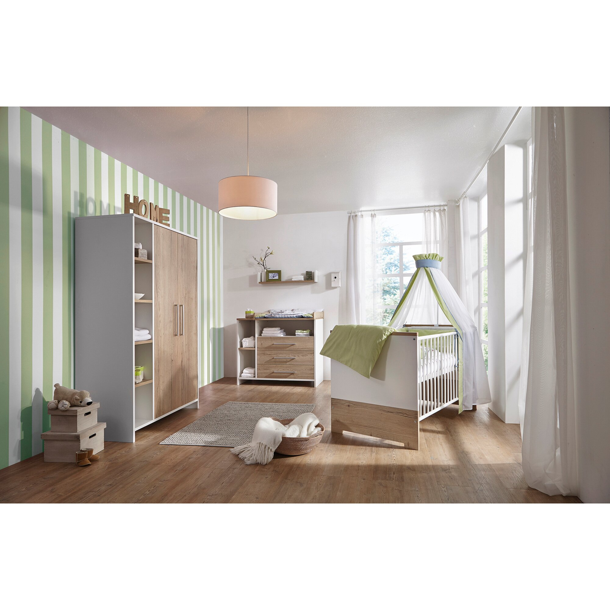 "Schardt Kinderzimmer ""Eco Plus"" inkl. 2trg. Kleiderschrank"