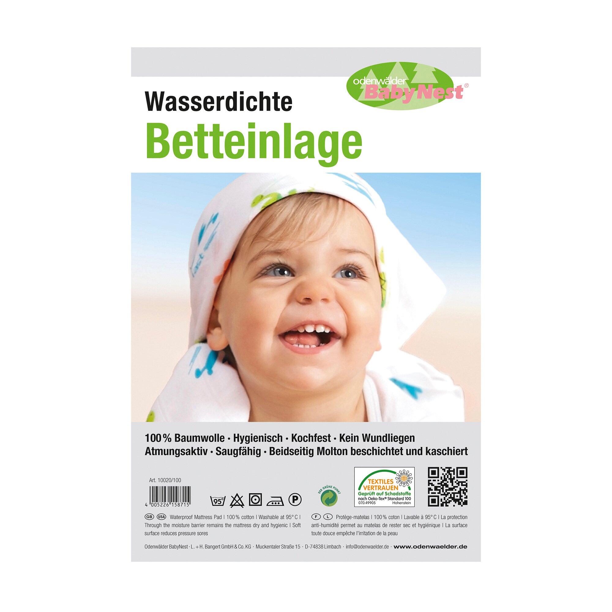 Odenwälder Molton-Matratzenauflage wasserdicht