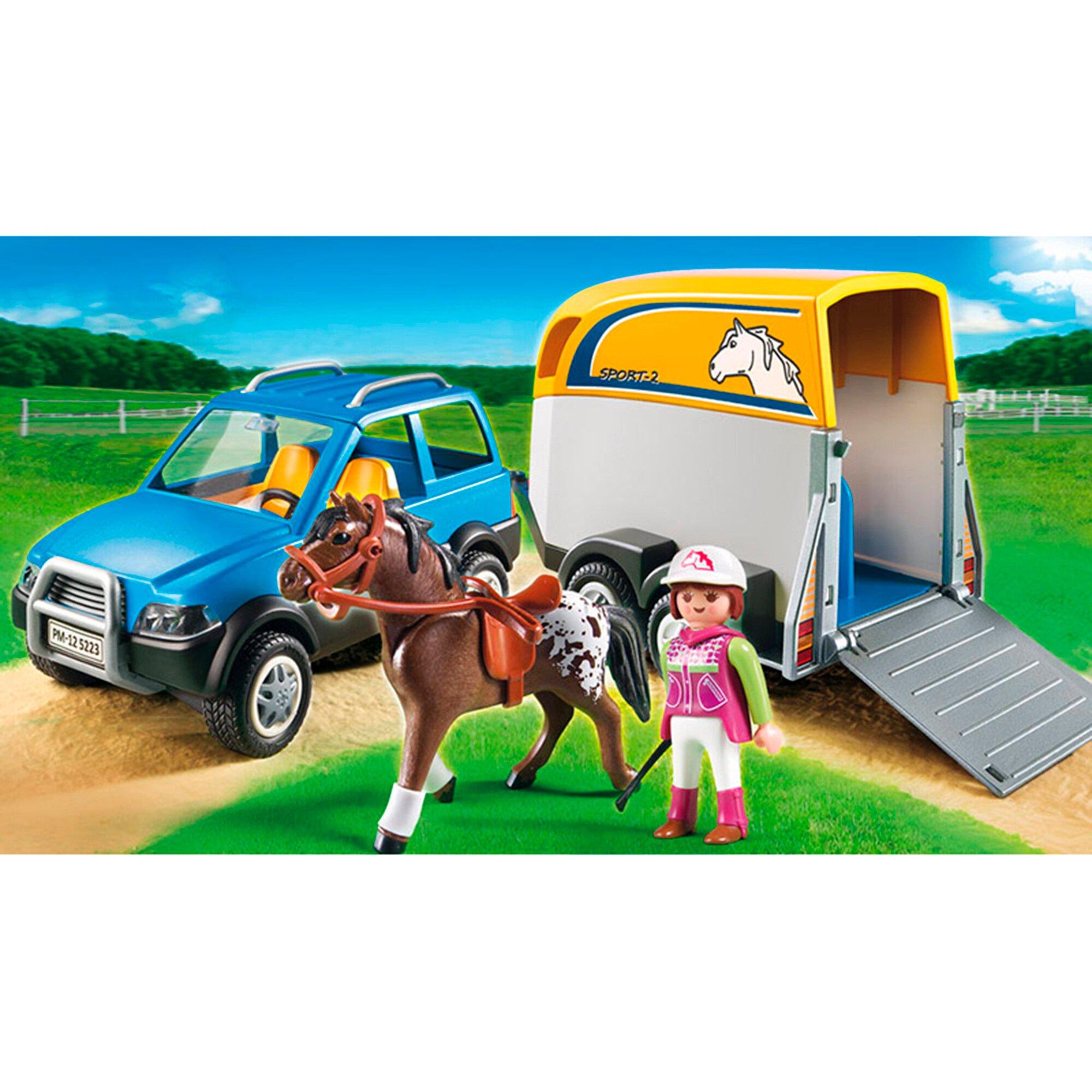 Country 5223 PKW mit Pferdeanhänger