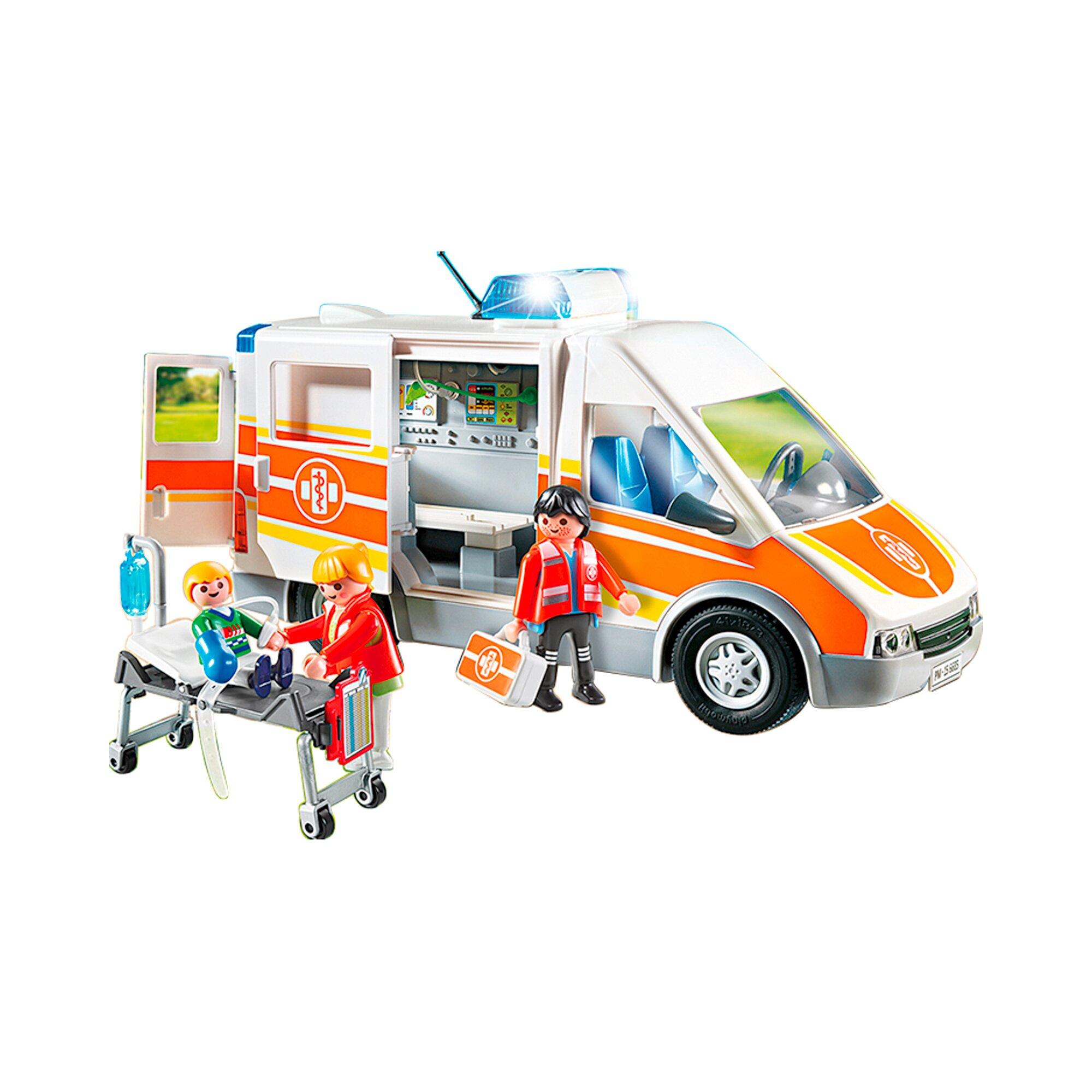 city-life-6685-krankenwagen-mit-licht-und-sound, 36.99 EUR @ babywalz-de