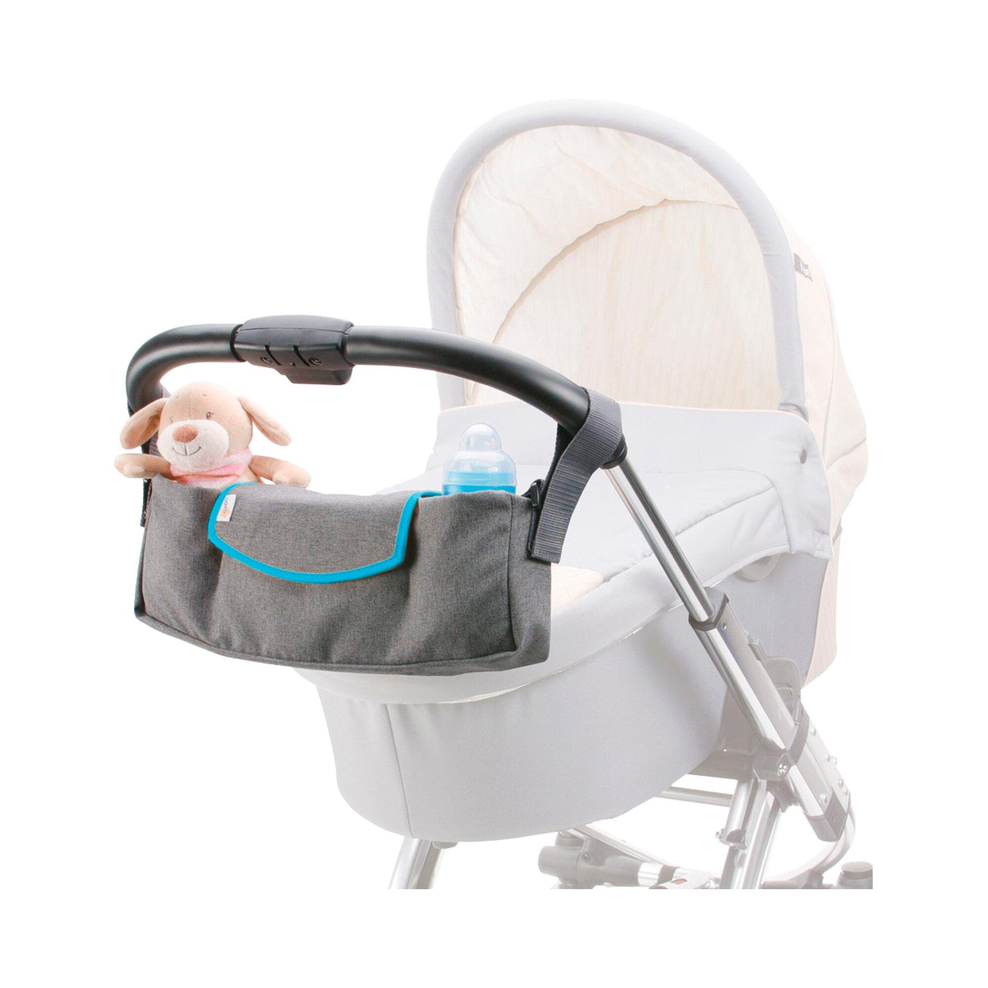 Diago Universal Organizer für Kinderwagen, Buggy blau