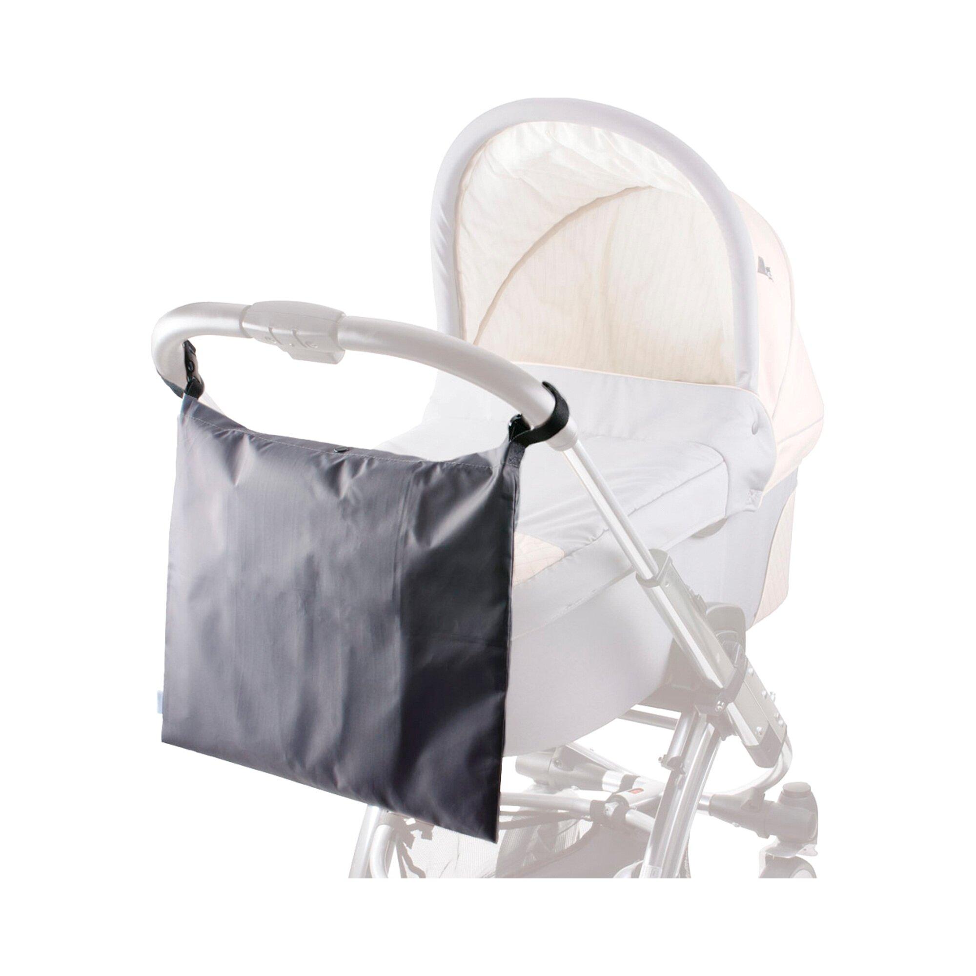 Diago Einkaufstasche für Kinderwagen und Buggy schwarz