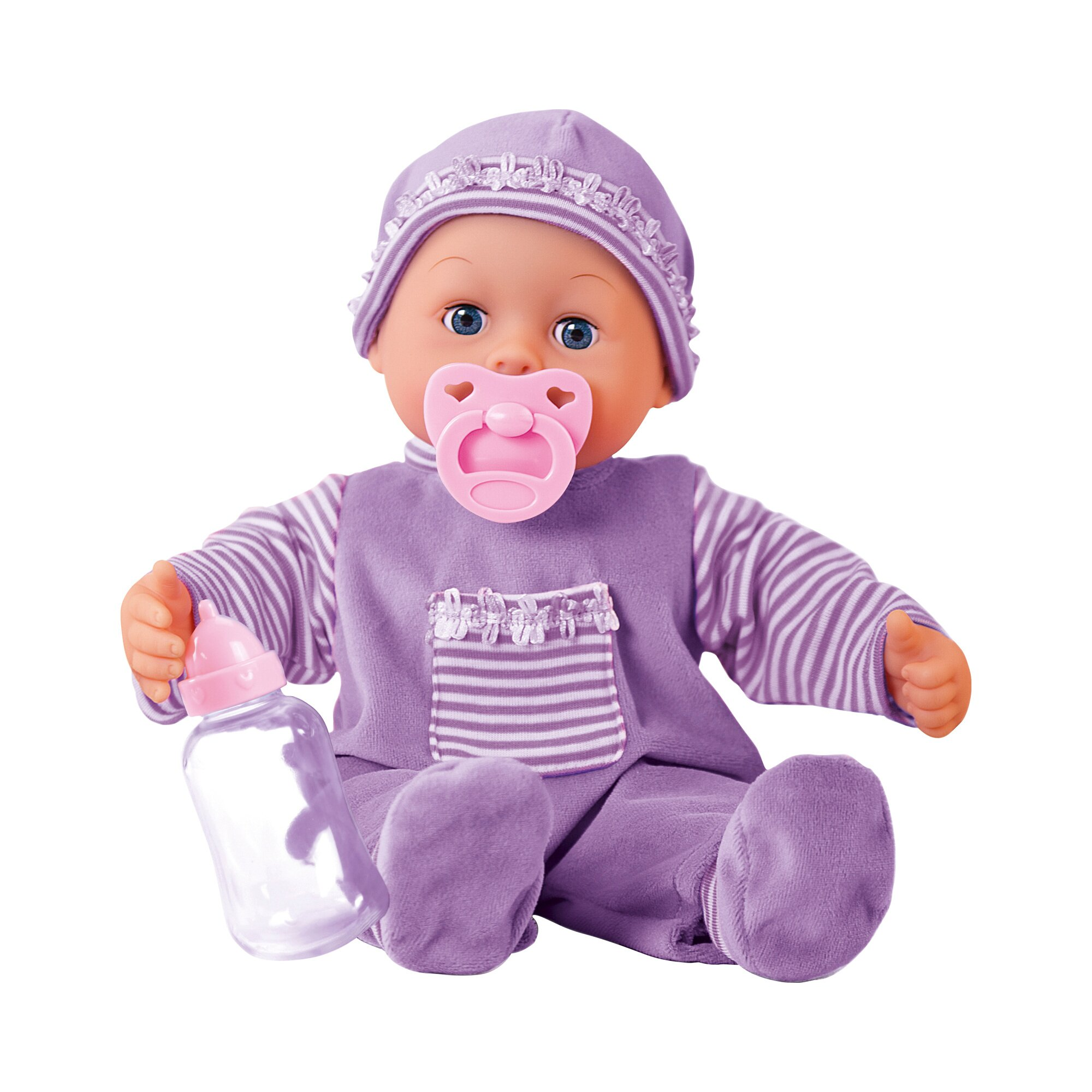 Bayer Design Puppe First Words Baby mit Funktionen 38cm