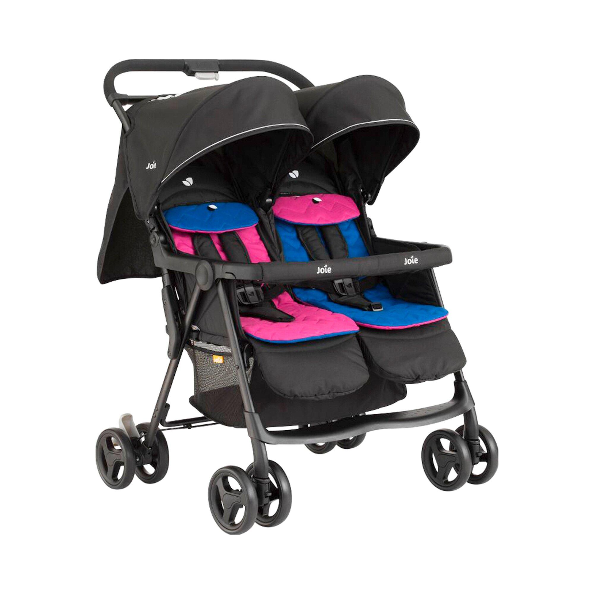 joie-kinderwagen-zwillingswagen-aire-twin-mehrfarbig
