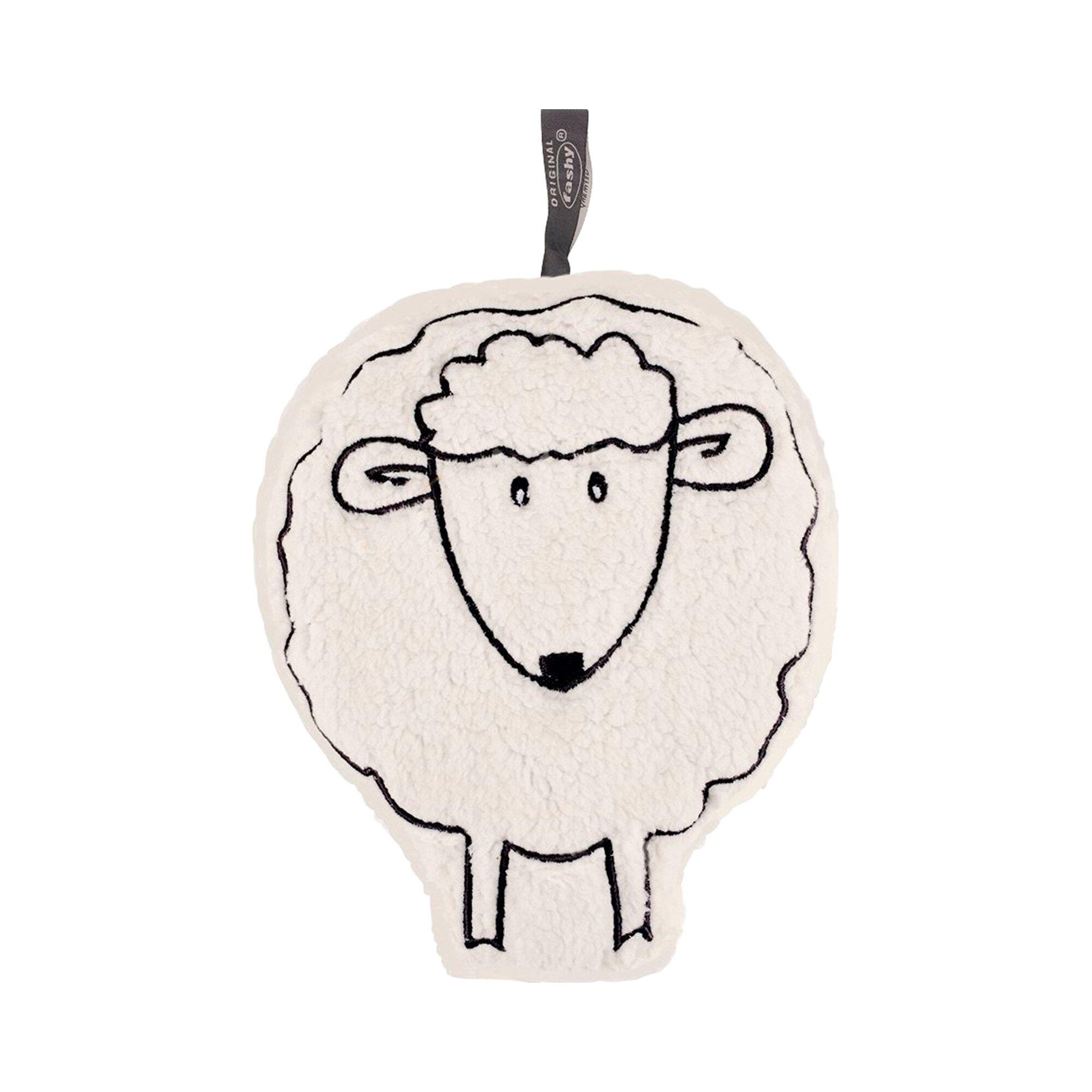 Fashy Wärme- und Kühlkissen mit Kirschkernfüllung Schaf