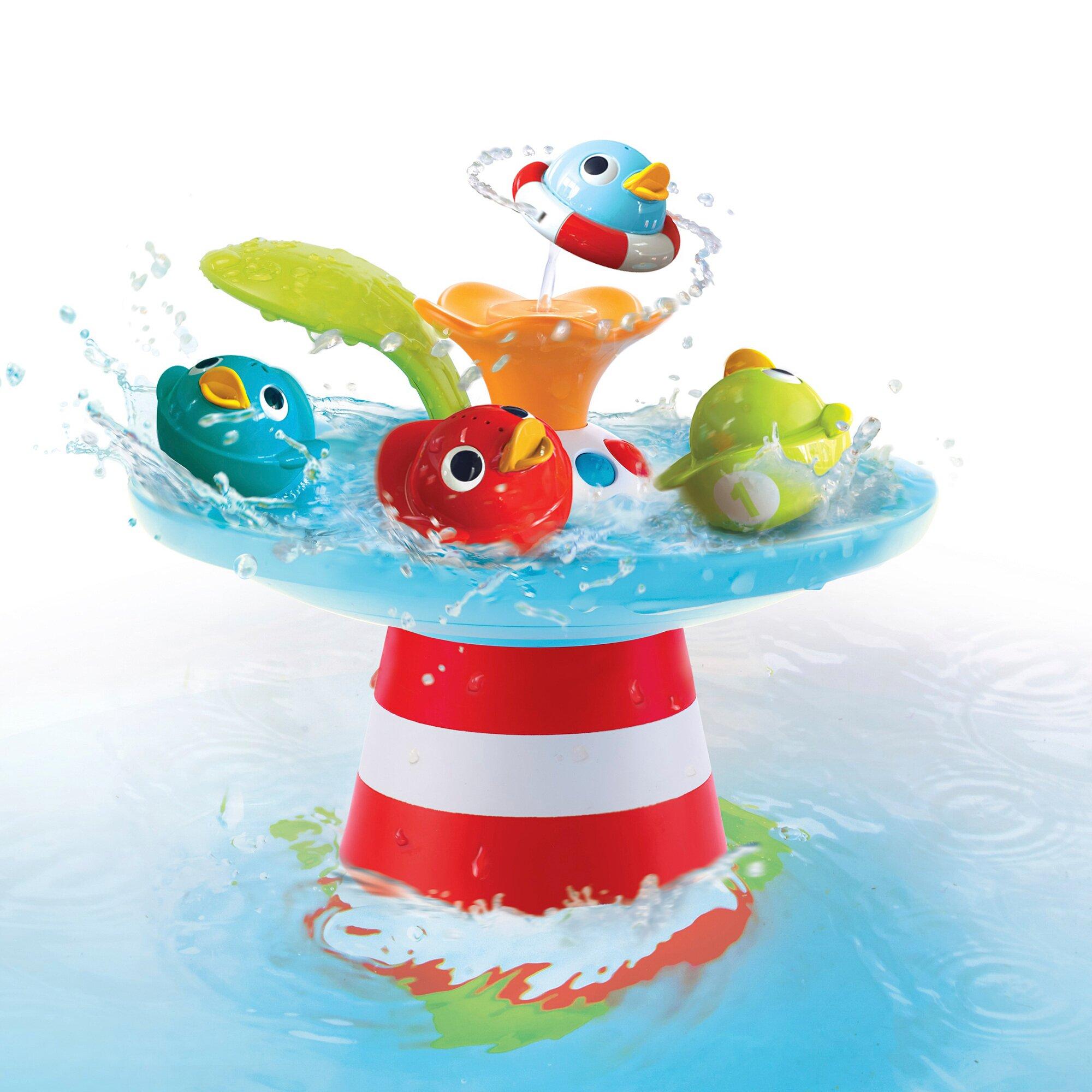 Yookidoo Badespielzeug Entenrennen