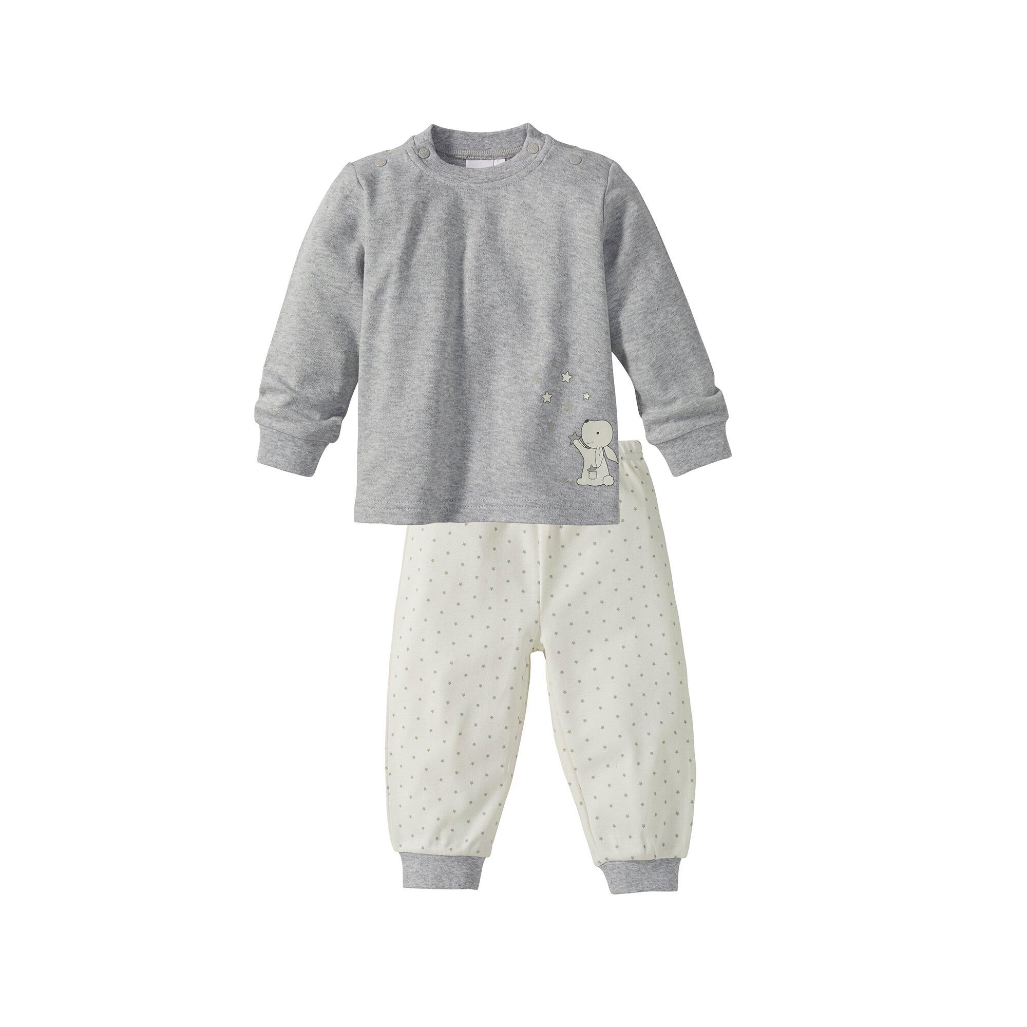 Basics Schlafanzug lang