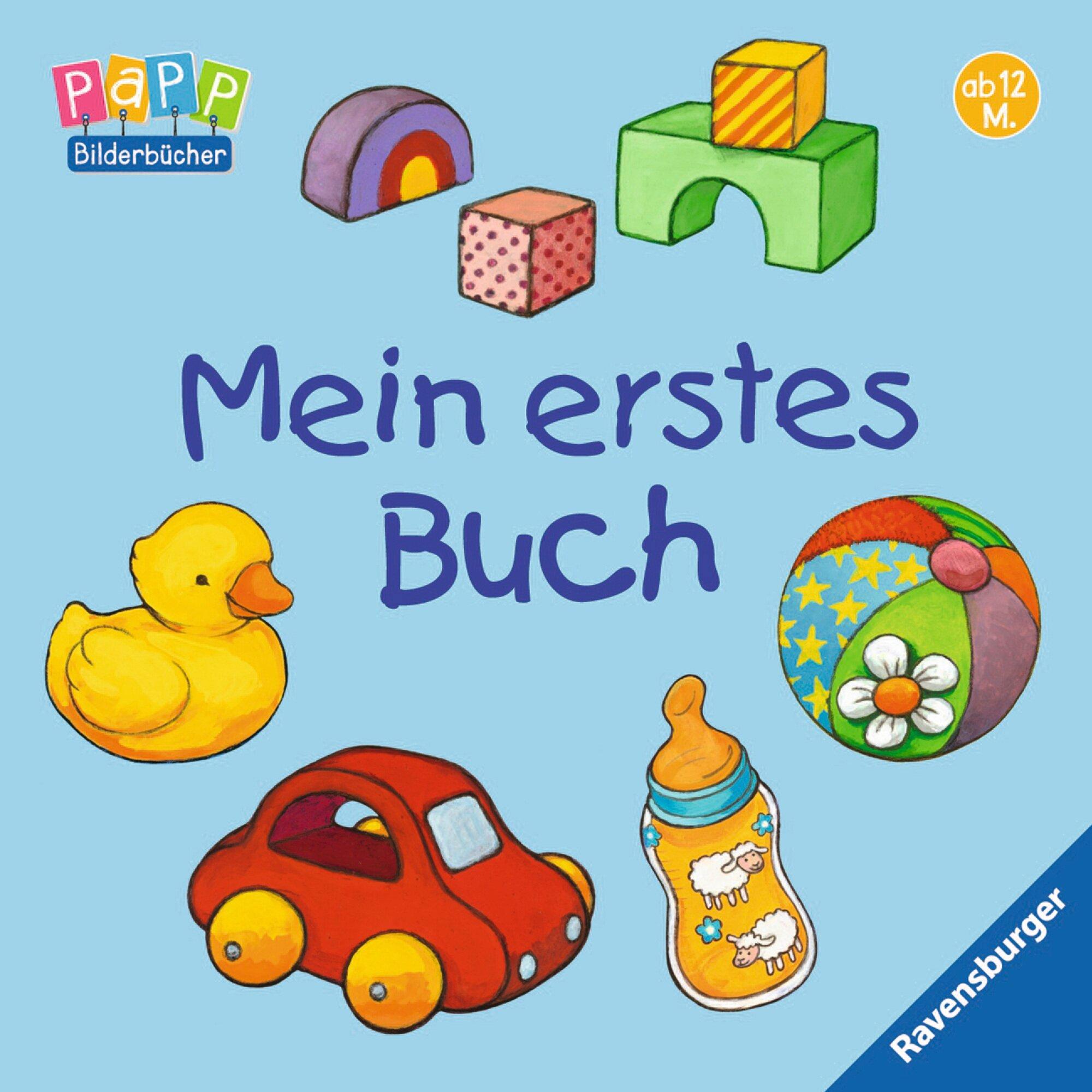 Ravensburger Pappbilderbuch-Mein erstes Buch