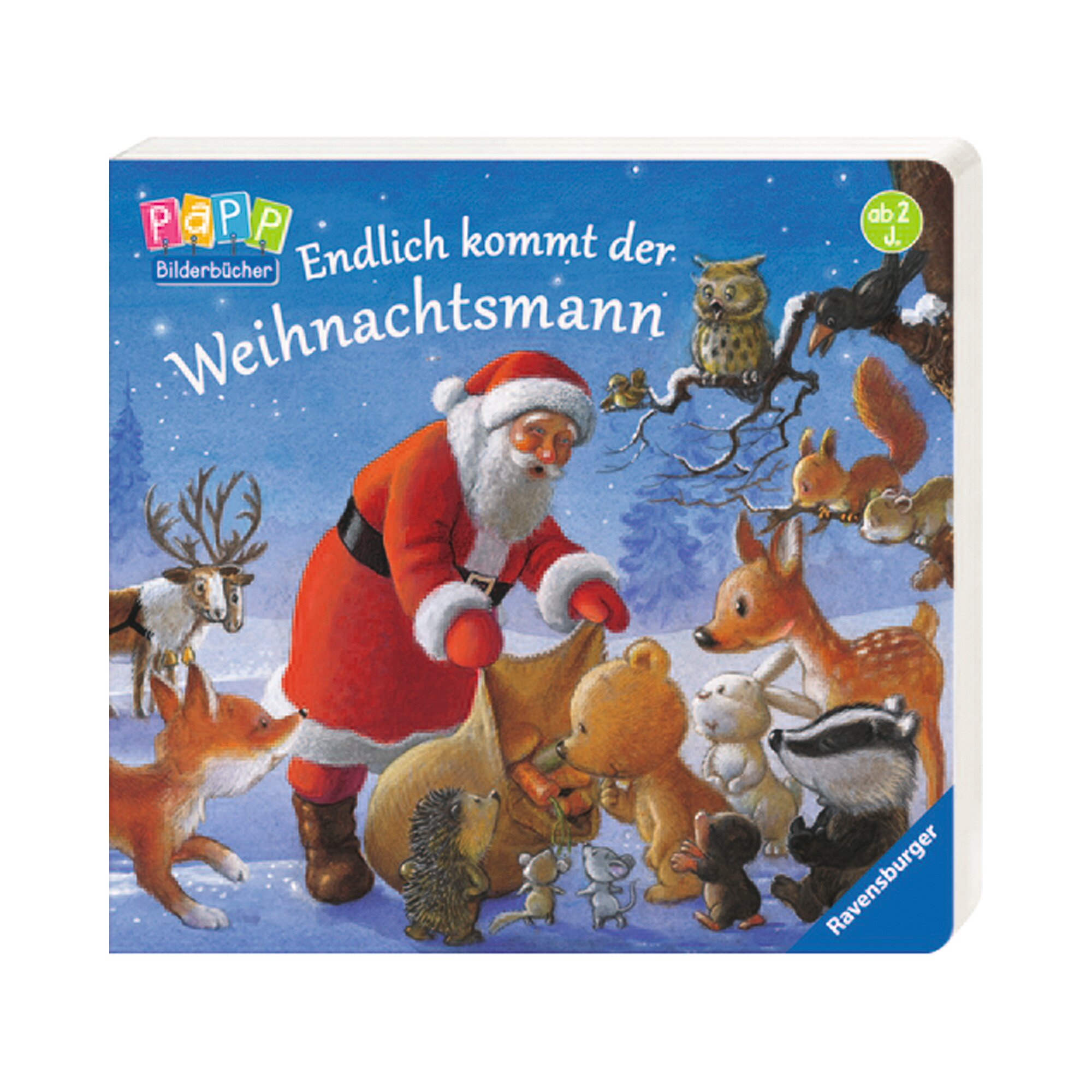 Ravensburger Buch: Endlich kommt der Weihnachtsmann