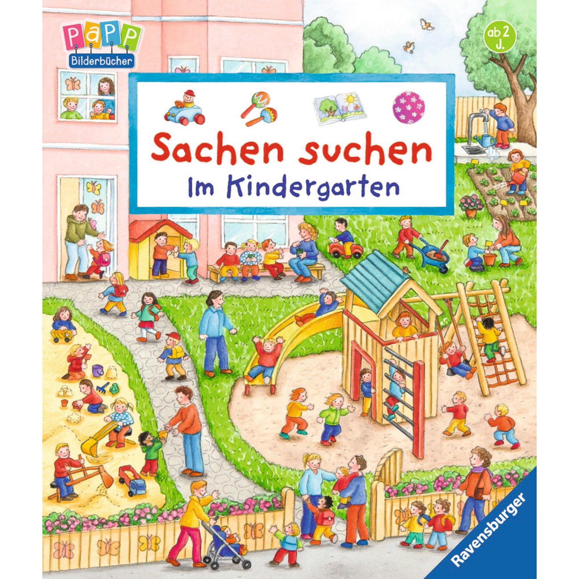 Ravensburger Pappbilderbuch-Sachen suchen: Im Kindergarten