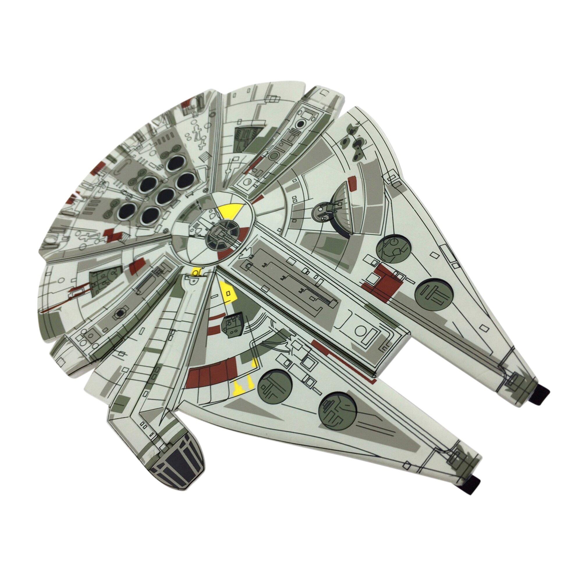 star-wars-wurfgleiter-super-flyer-millennium-falcon, 4.50 EUR @ babywalz-de