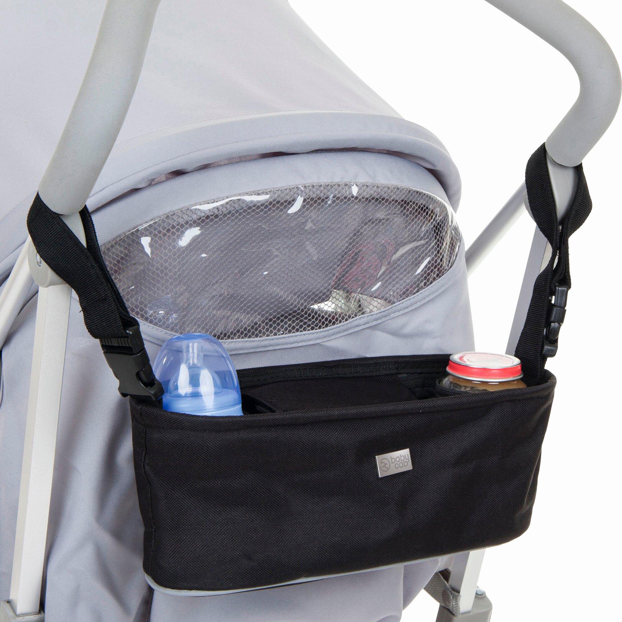 Babycab Travel Organizer für Kinderwagen und Buggy schwarz