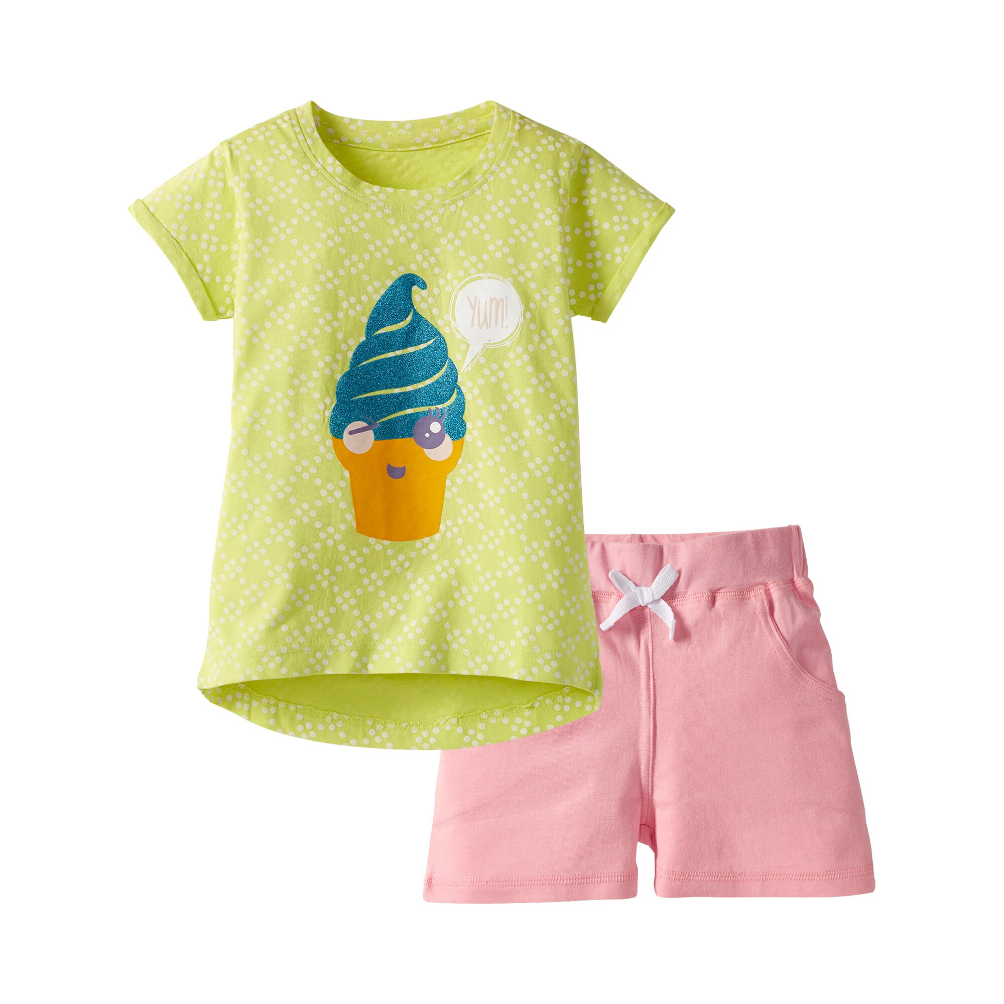 Cute Rebels Set T-Shirt + Shorts mehrfarbig 92/98/104/110/116/122/128