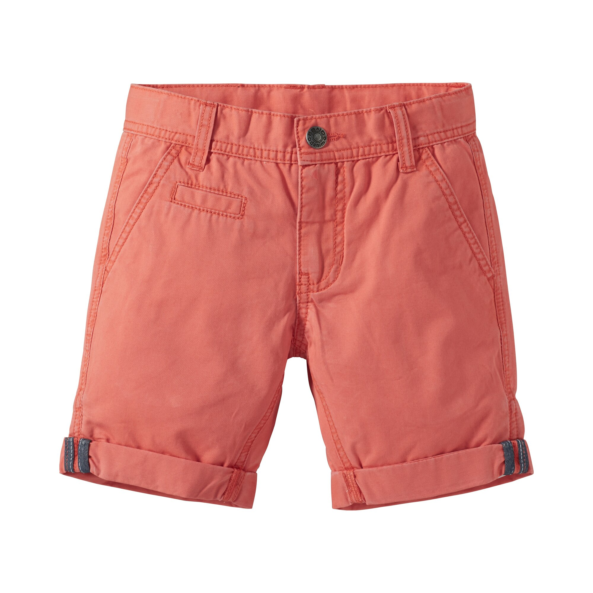 Cute Rebels Twill Bermuda orange 92/98/104/110/116/122/128