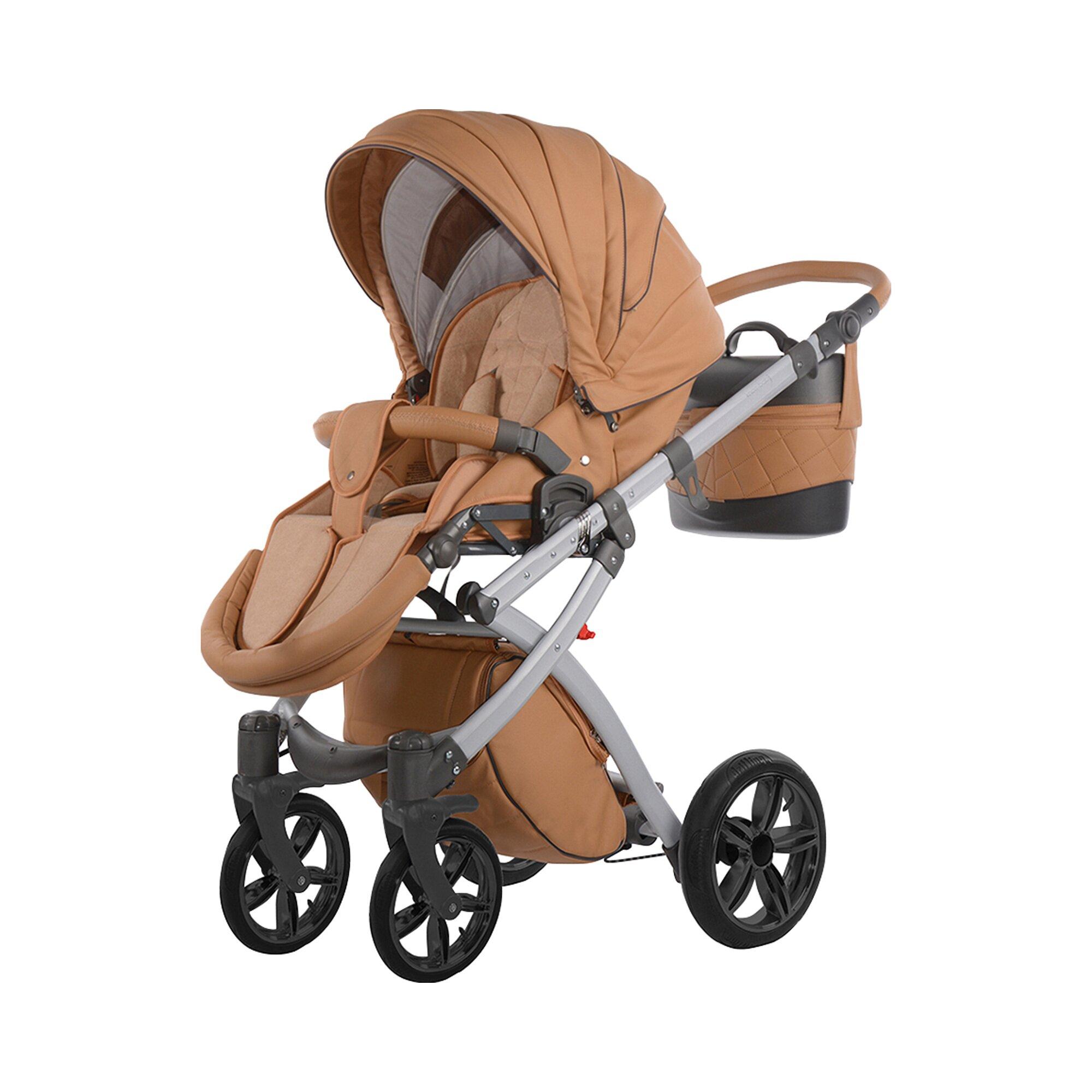 knorr-baby-alive-eco-pure-kombikinderwagen-mit-wickeltasche-beige